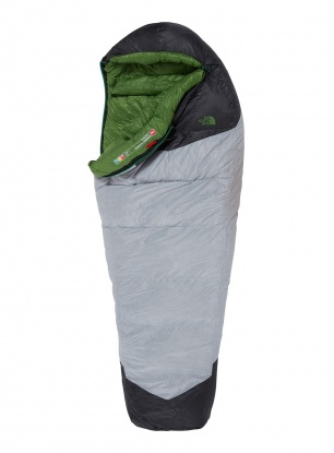 Zimowy śpiwór The North Face Green Kazoo (198 cm) - grey/adder green