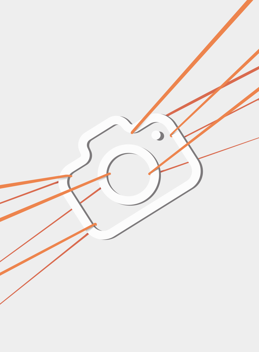 Koszulka Salomon Blend Logo SS Tee - m.brown/goji berry