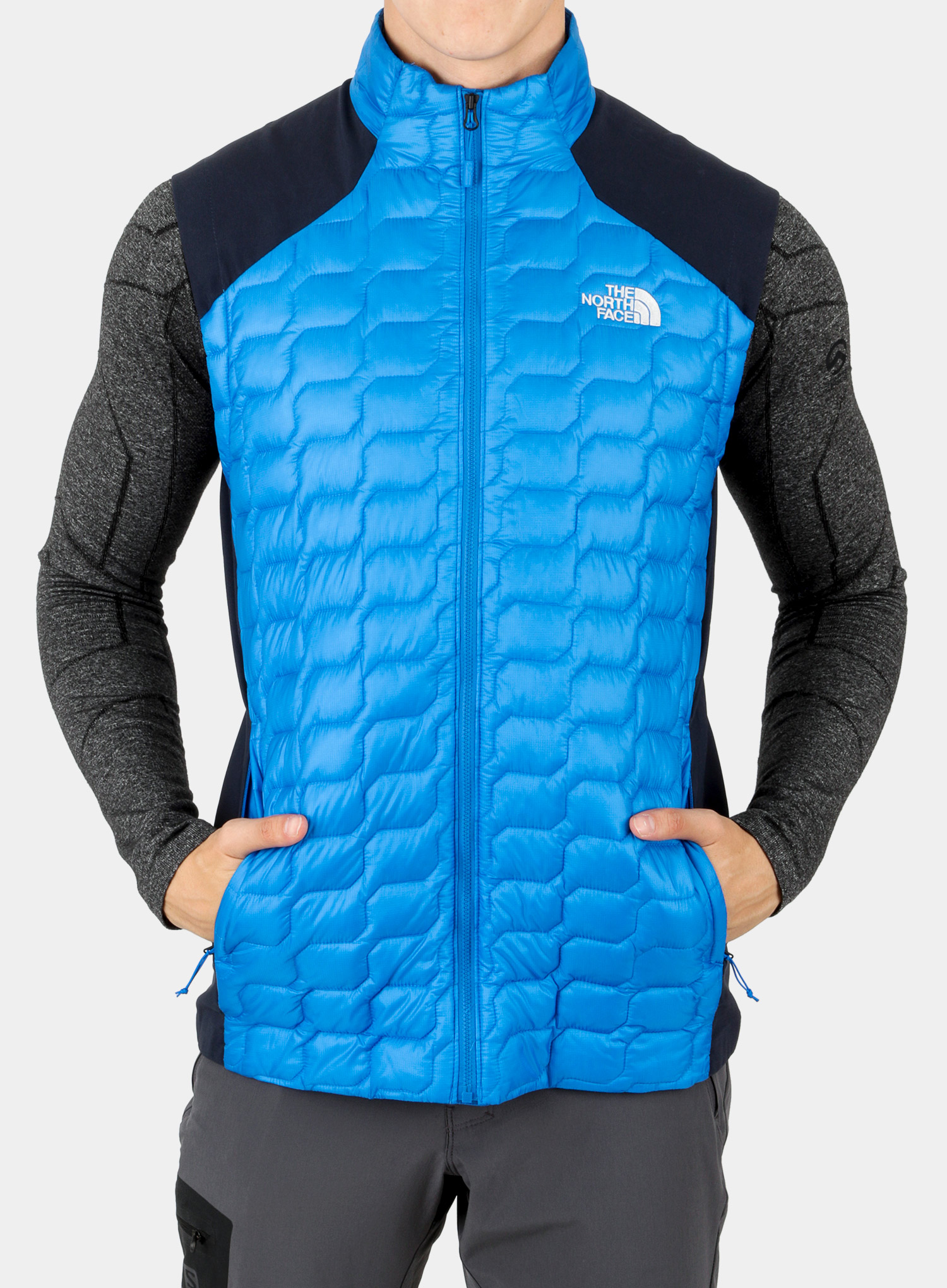 Kamizelka The North Face New Tansa Thermoball Vest - bomber blue/navy - zdjęcie nr. 1