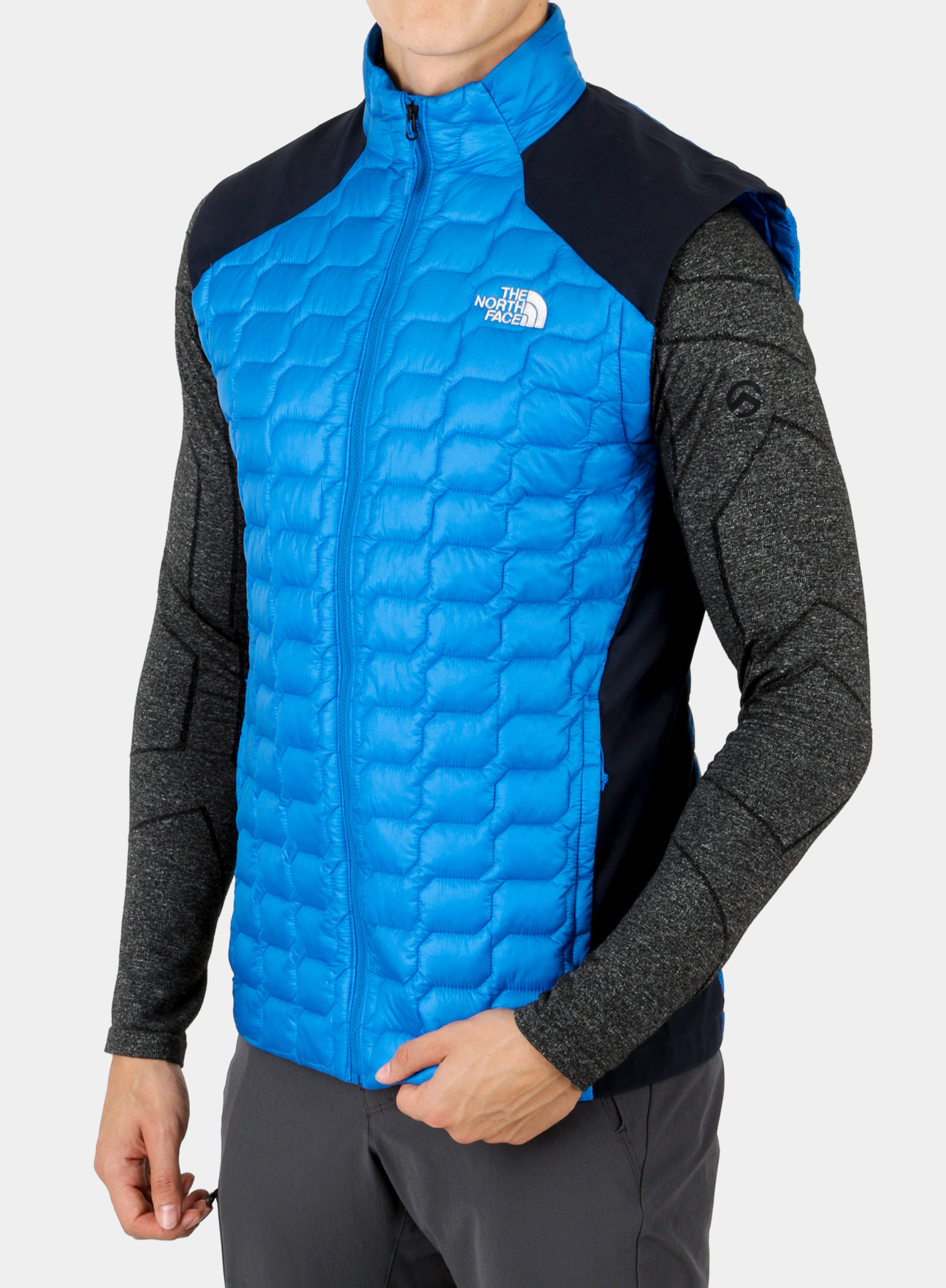 Kamizelka The North Face New Tansa Thermoball Vest - bomber blue/navy - zdjęcie nr. 3
