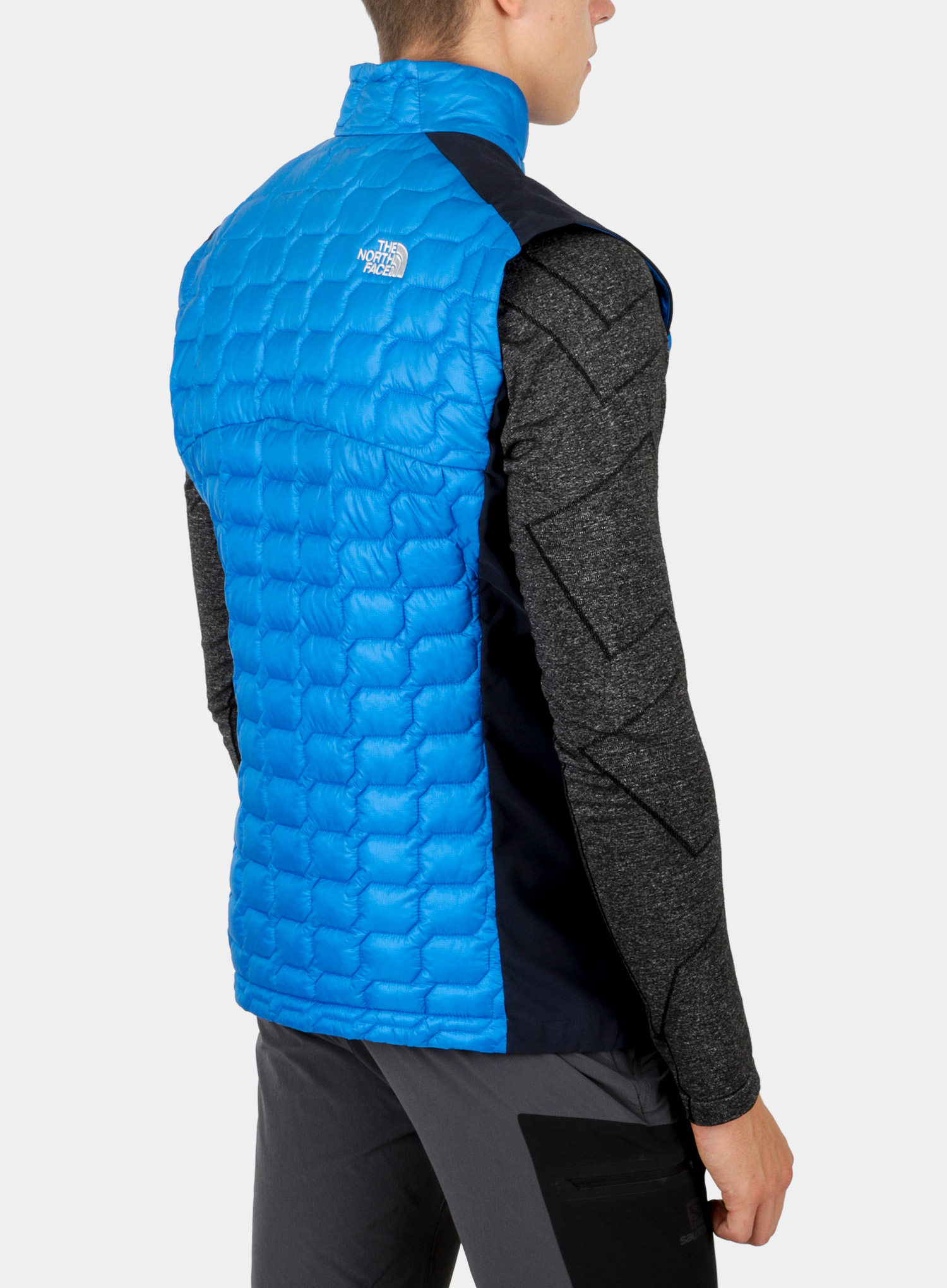 Kamizelka The North Face New Tansa Thermoball Vest - bomber blue/navy - zdjęcie nr. 4