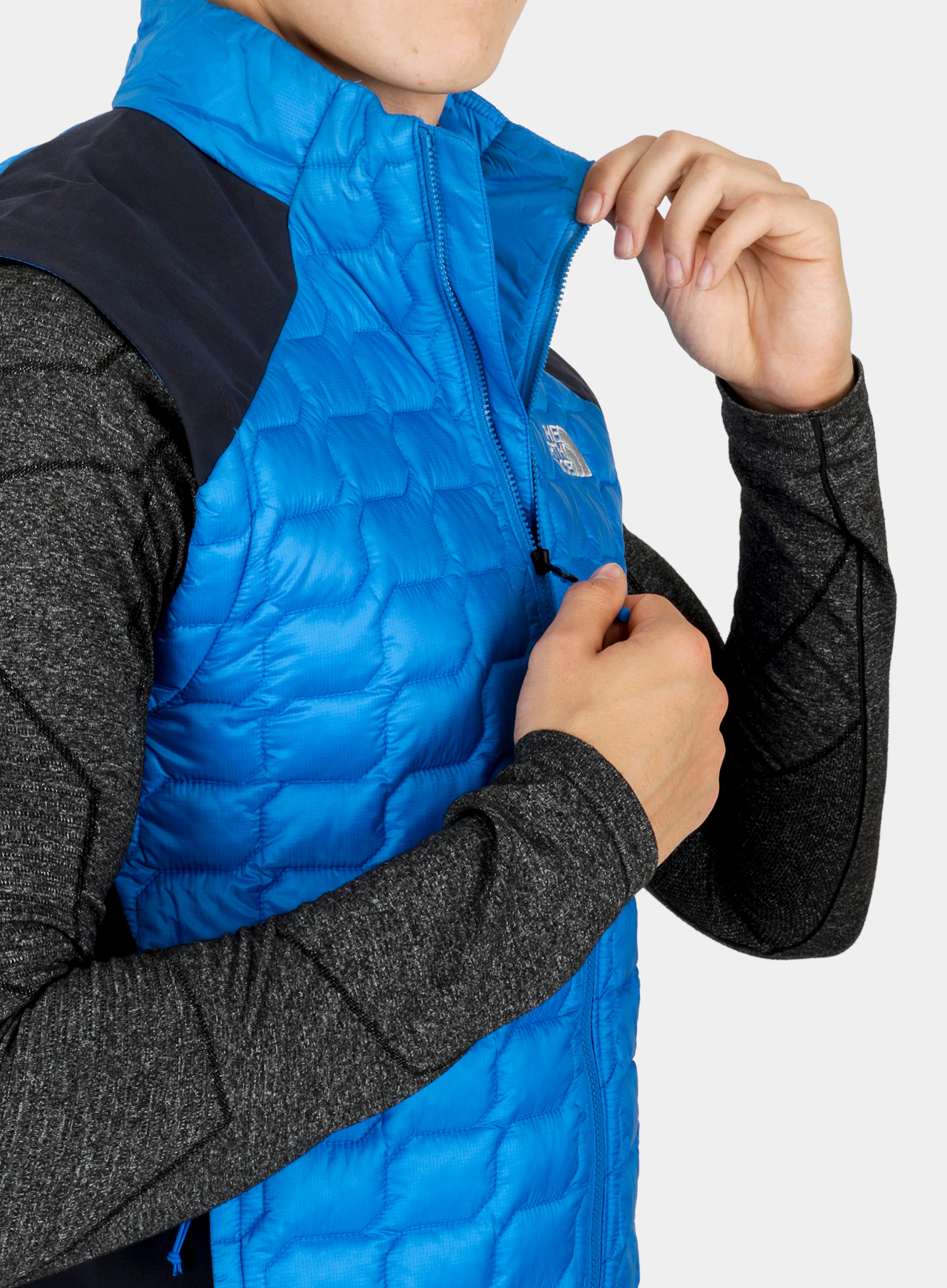 Kamizelka The North Face New Tansa Thermoball Vest - bomber blue/navy - zdjęcie nr. 8