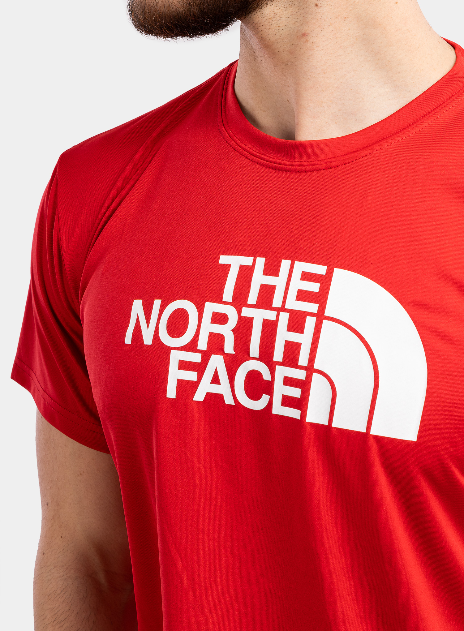 Koszulka The North Face Reaxion Easy Tee - tnf red - zdjęcie nr. 6