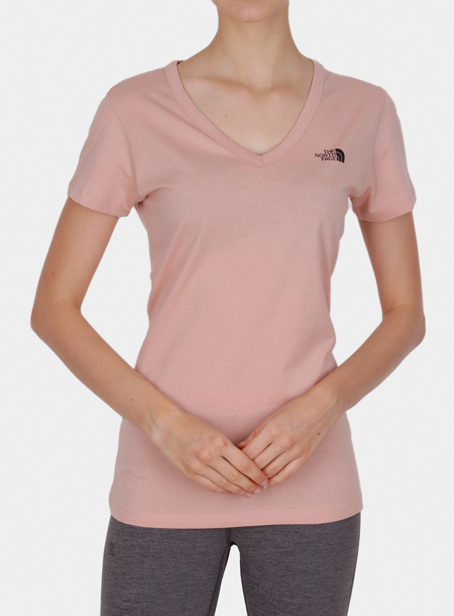 T-shirt damski The North Face Simple Dome Tee S/S - misty rose - zdjęcie nr. 1