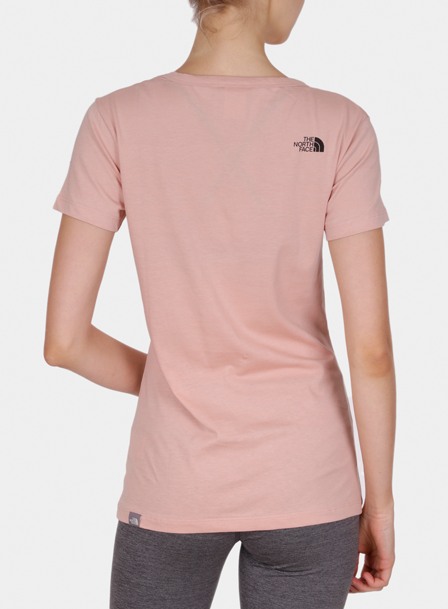 T-shirt damski The North Face Simple Dome Tee S/S - misty rose - zdjęcie nr. 2