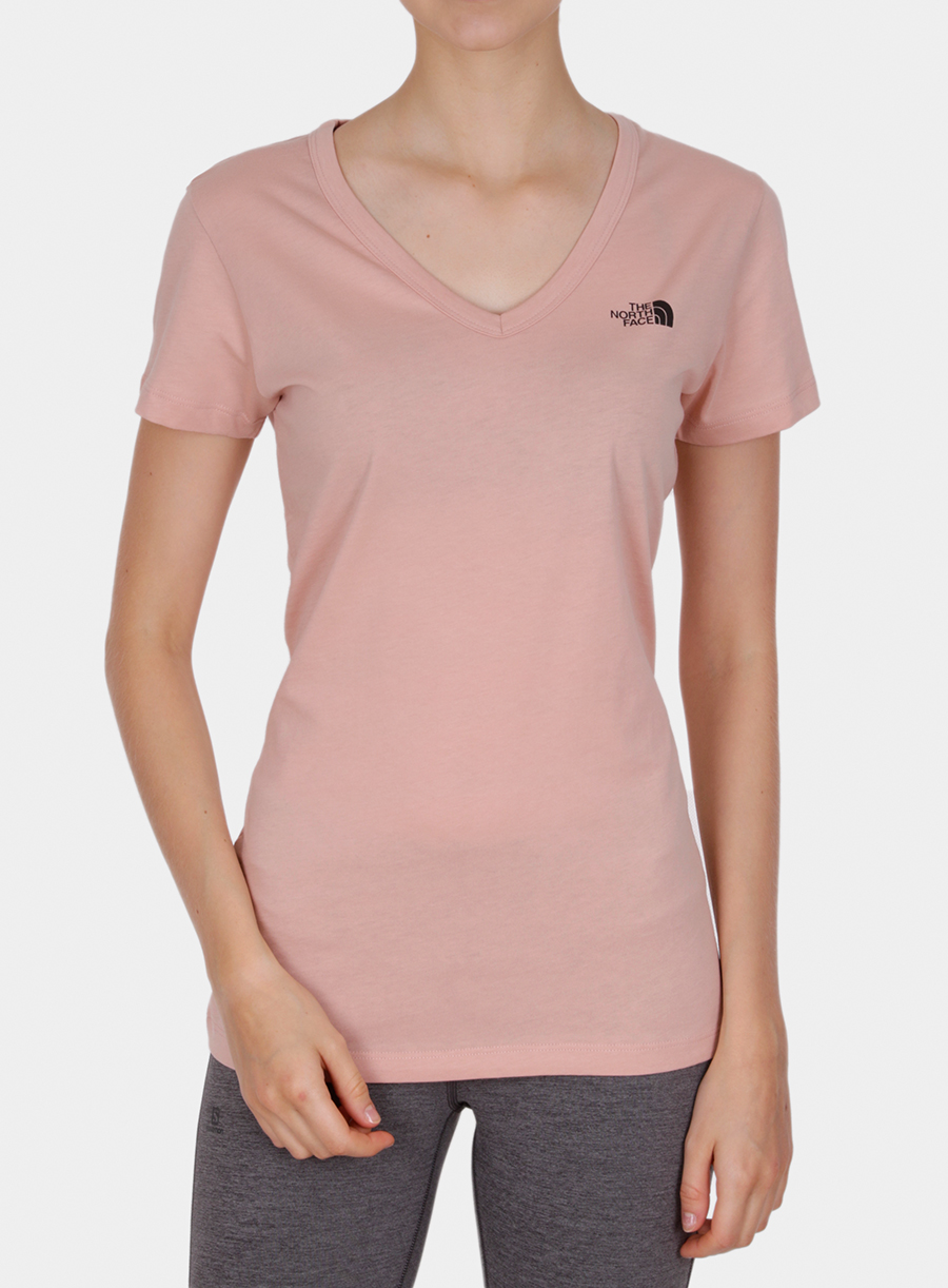 T-shirt damski The North Face Simple Dome Tee S/S - misty rose - zdjęcie nr. 3