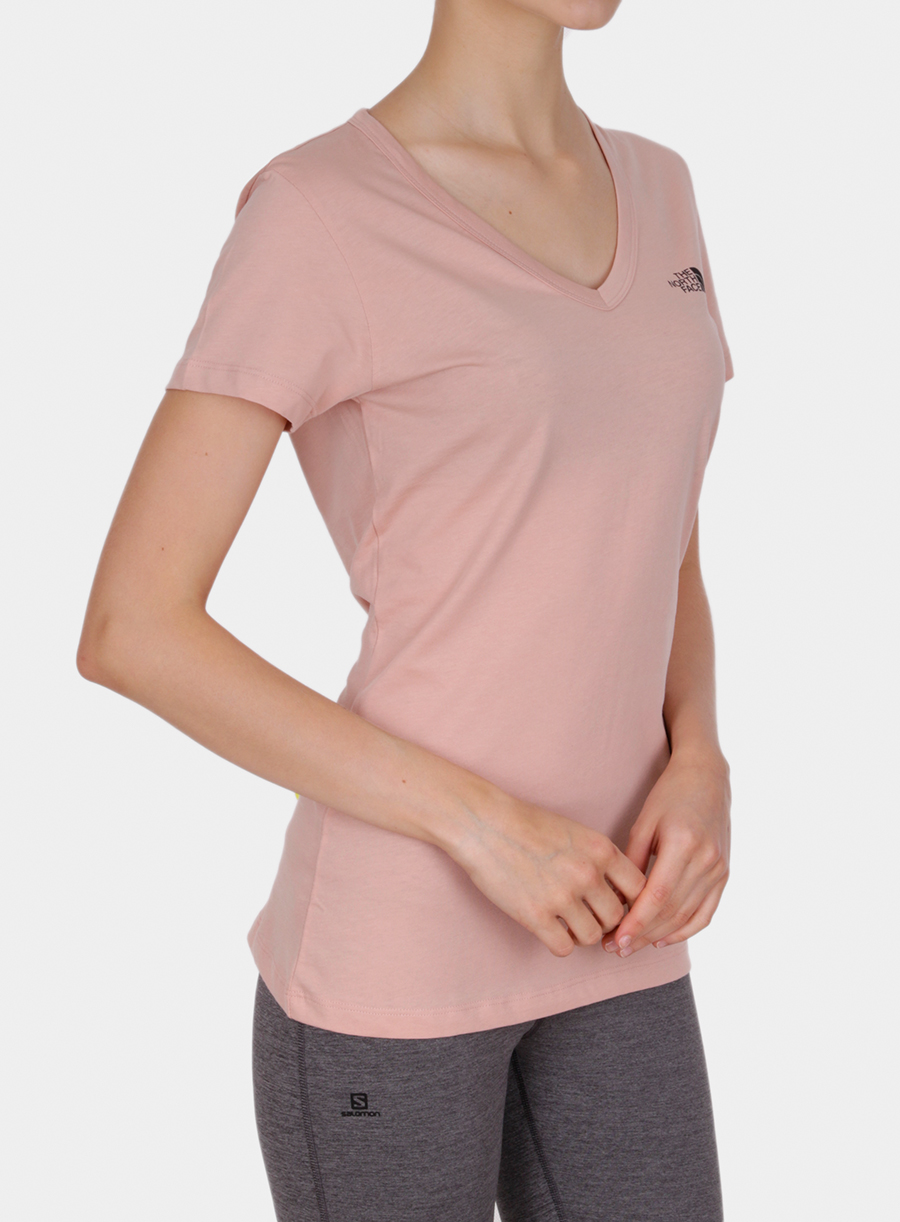 T-shirt damski The North Face Simple Dome Tee S/S - misty rose - zdjęcie nr. 4