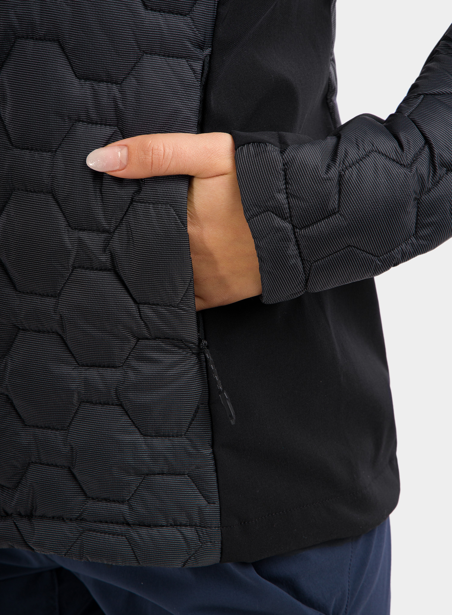 Kurtka damska The North Face Impendor Thermoball Hybrid Jacket - black - zdjęcie nr. 7