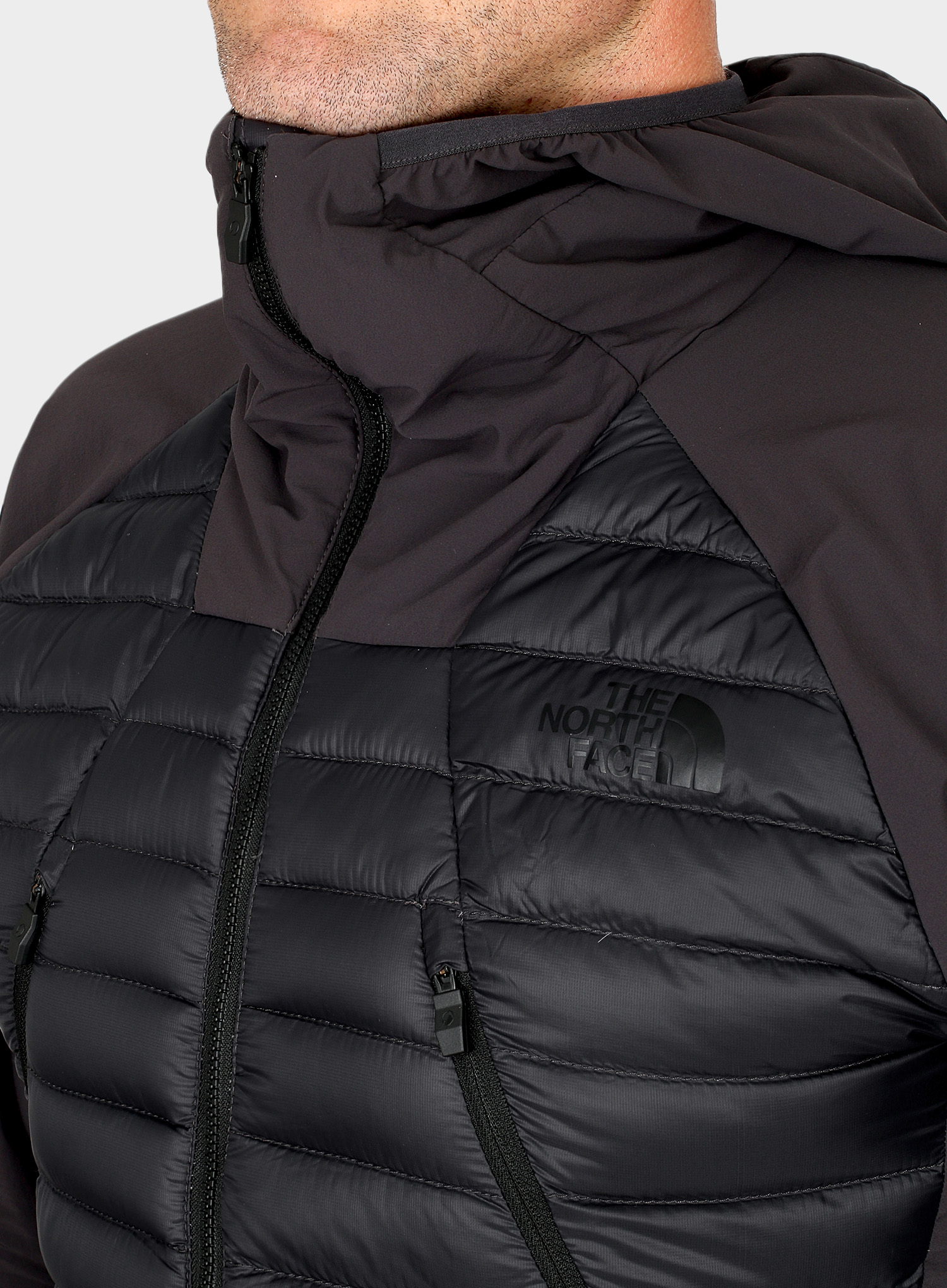 Kurtka puchowa The North Face Unlimited Jacket - weathered black - zdjęcie nr. 5