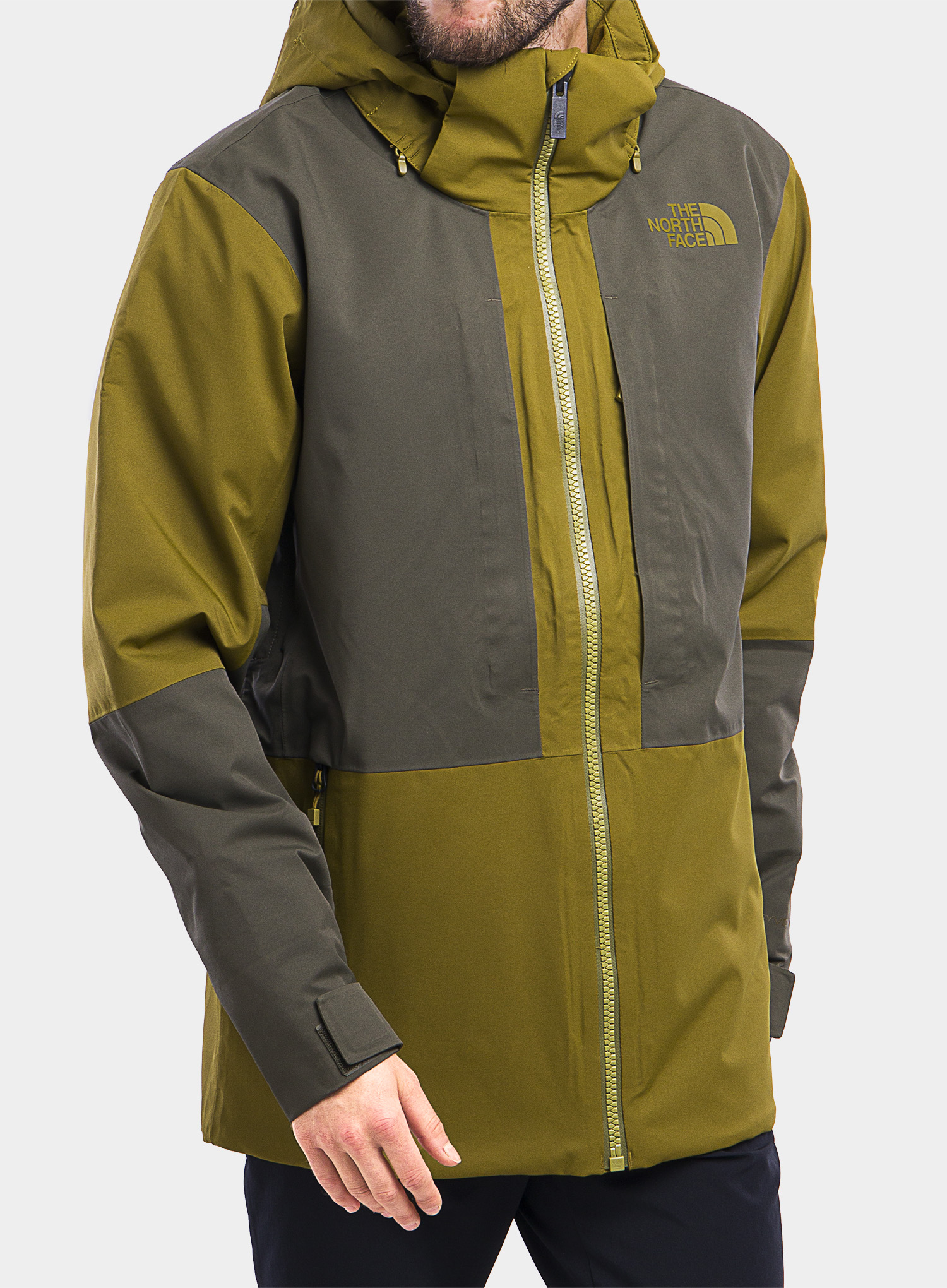 Kurtka The North Face Chakal Jacket - fir green/new taupe green - zdjęcie nr. 1