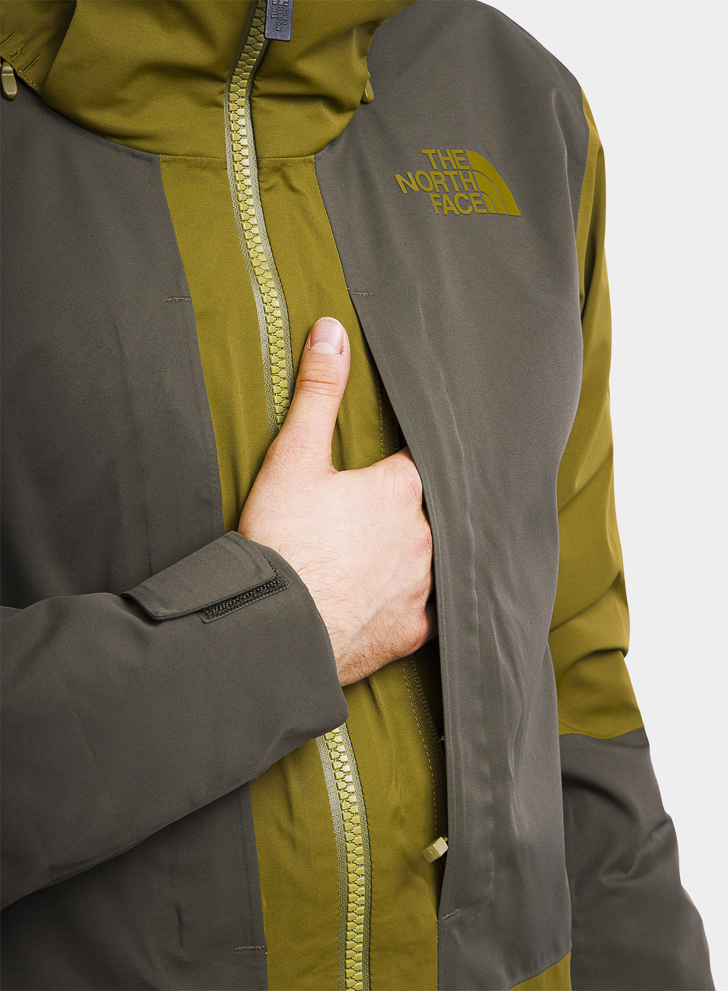Kurtka The North Face Chakal Jacket - fir green/new taupe green - zdjęcie nr. 13