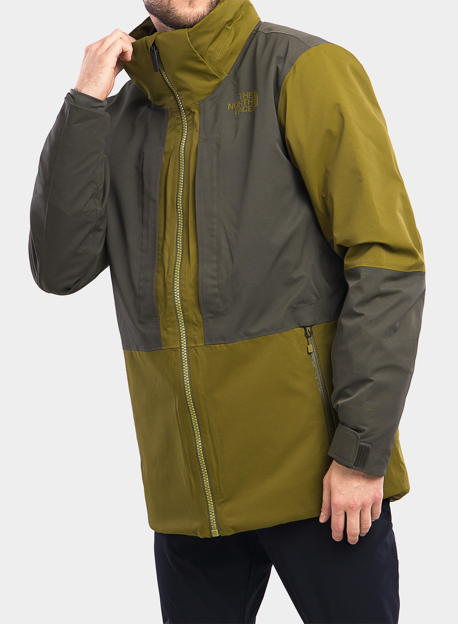 Kurtka The North Face Chakal Jacket - fir green/new taupe green - zdjęcie nr. 15