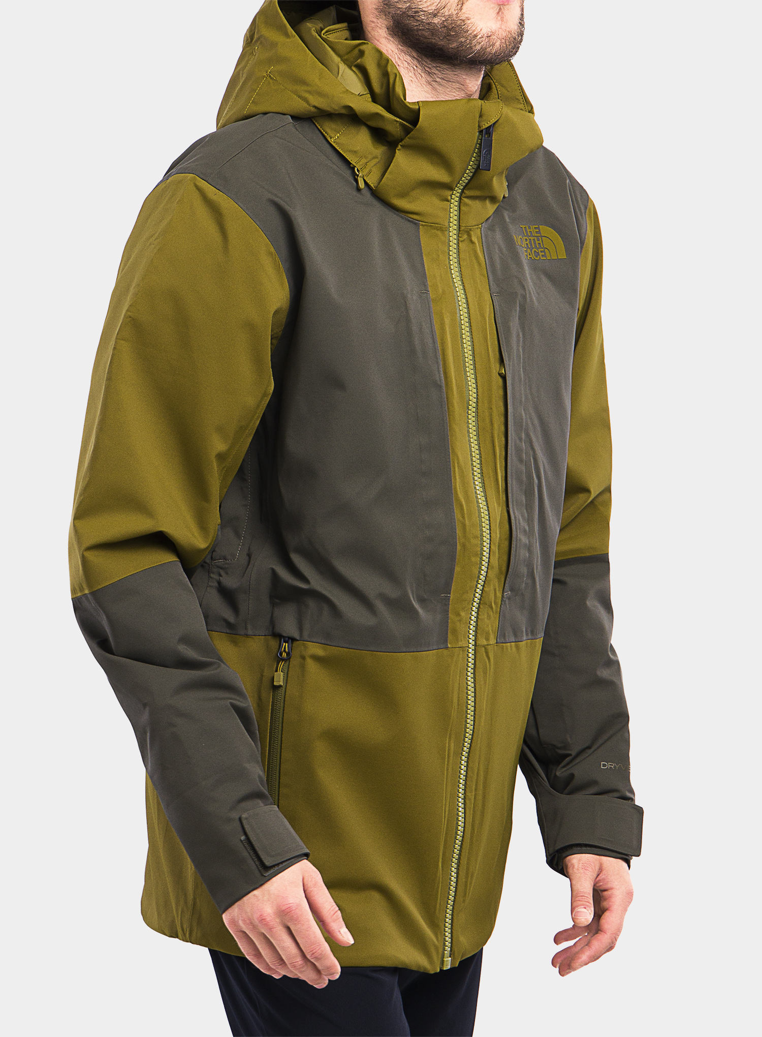 Kurtka The North Face Chakal Jacket - fir green/new taupe green - zdjęcie nr. 7