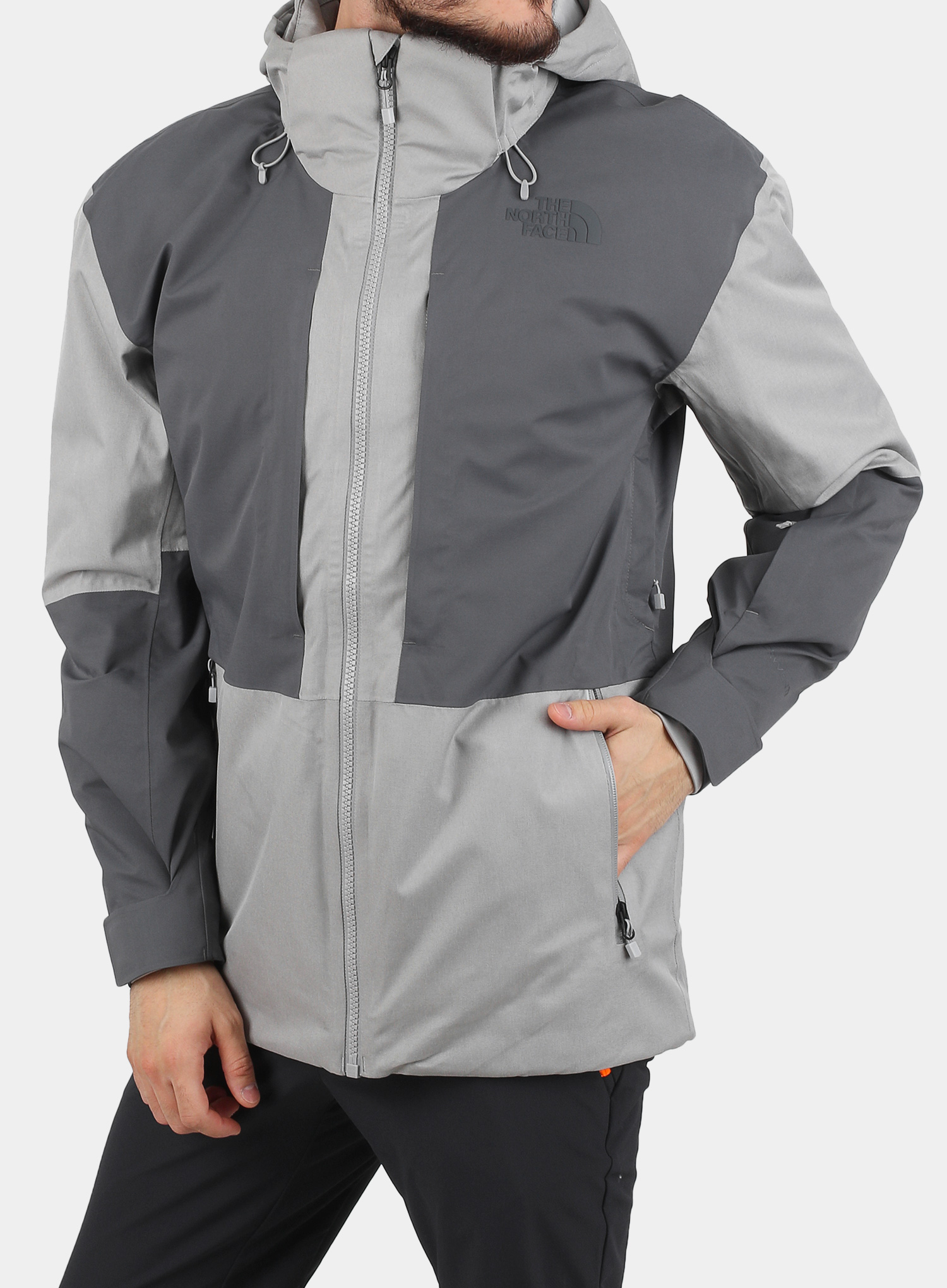 Kurtka The North Face Chakal Jacket - meld grey/vanadis grey - zdjęcie nr. 1