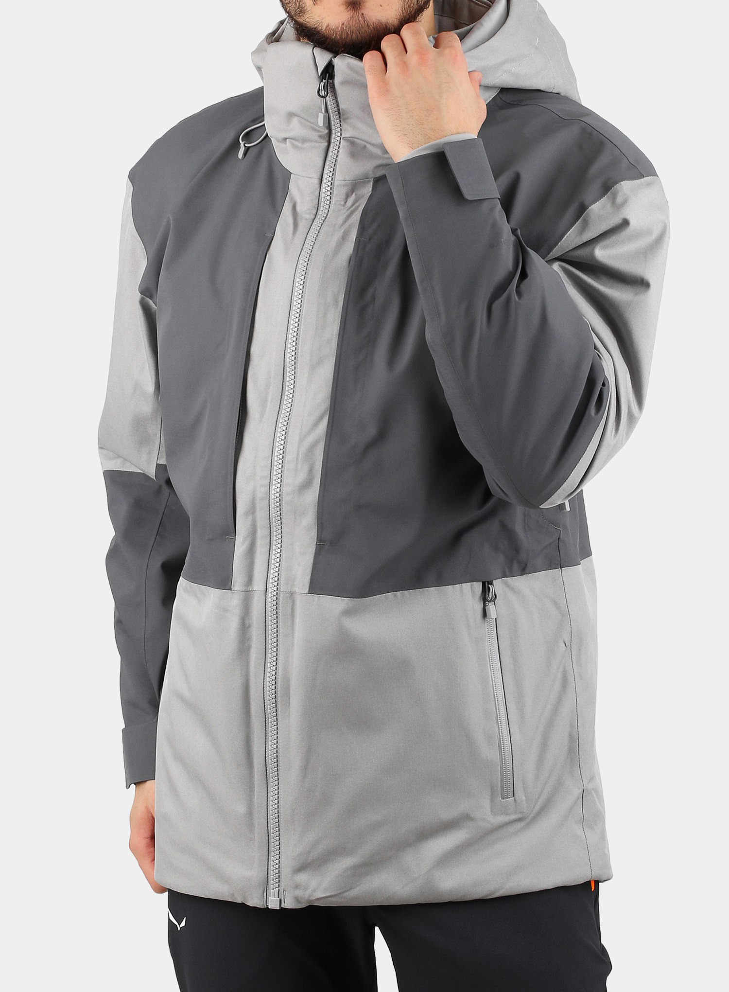 Kurtka The North Face Chakal Jacket - meld grey/vanadis grey - zdjęcie nr. 3