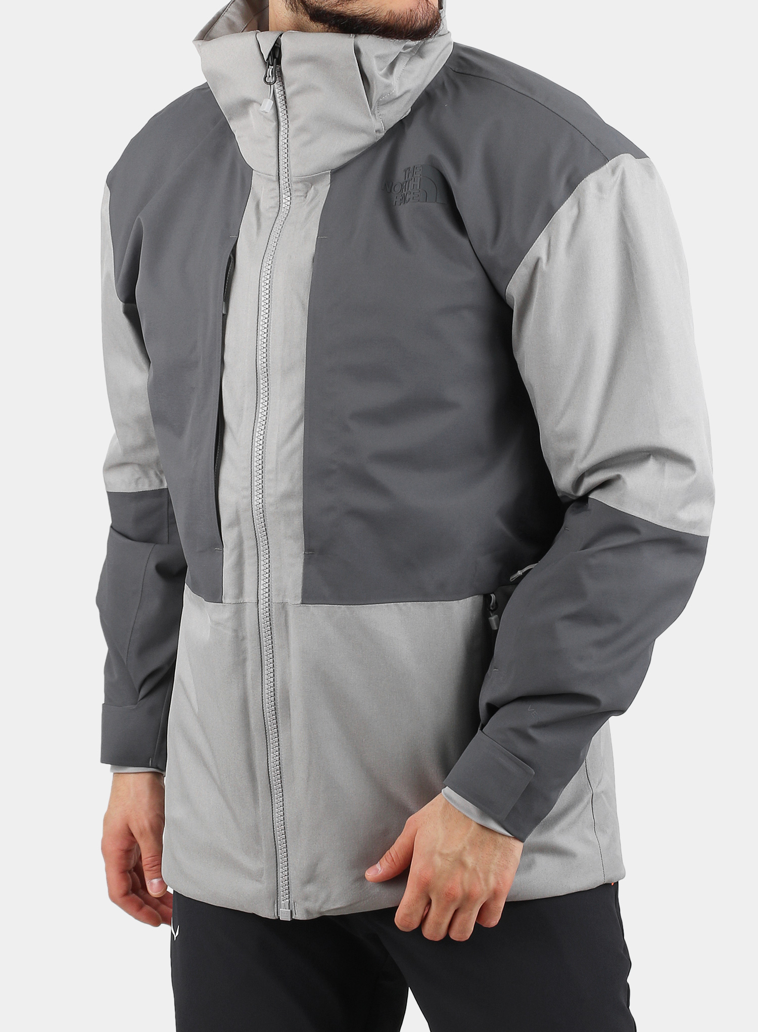 Kurtka The North Face Chakal Jacket - meld grey/vanadis grey - zdjęcie nr. 7