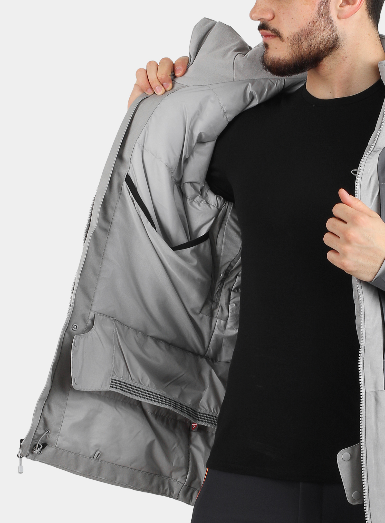 Kurtka The North Face Chakal Jacket - meld grey/vanadis grey - zdjęcie nr. 8