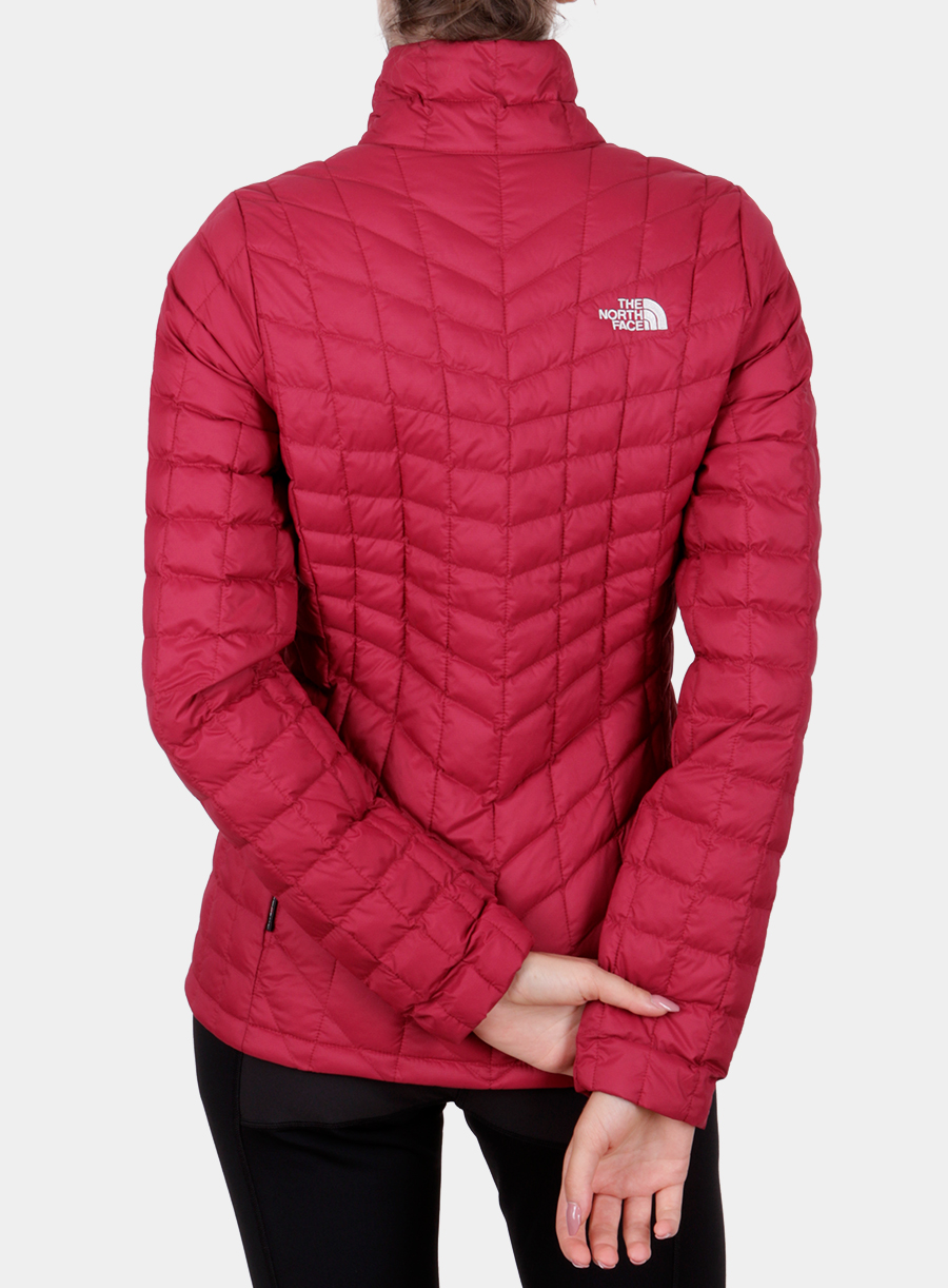 Kurtka The North Face damska Thermoball Full Zip Jacket - red - zdjęcie nr. 2