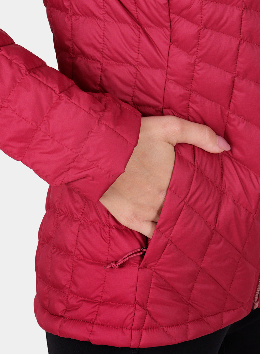 Kurtka The North Face damska Thermoball Full Zip Jacket - red - zdjęcie nr. 4