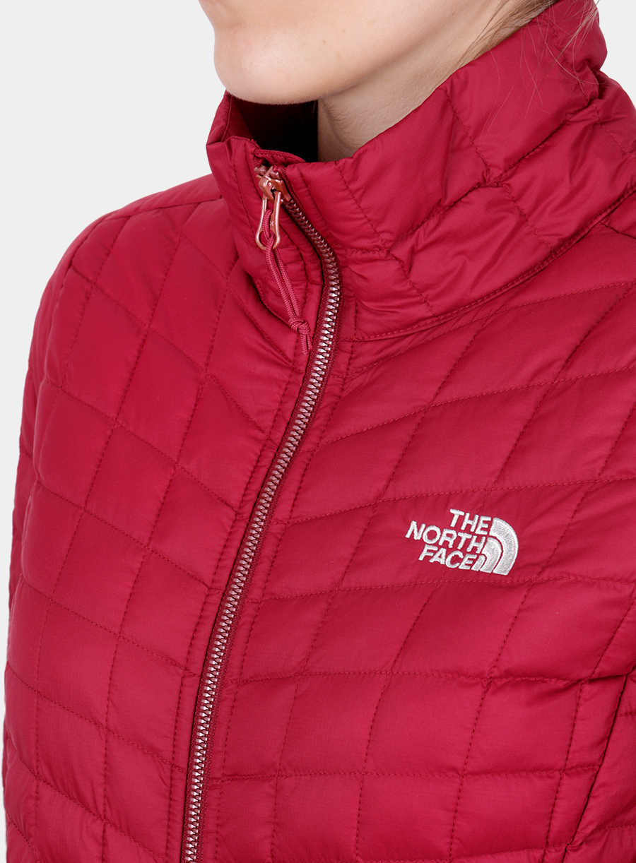 Kurtka The North Face damska Thermoball Full Zip Jacket - red - zdjęcie nr. 5