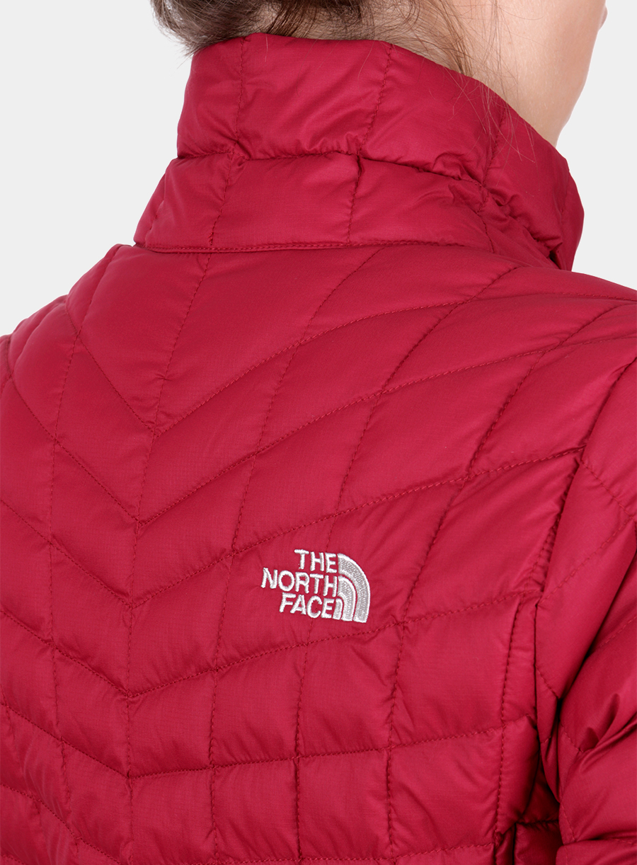 Kurtka The North Face damska Thermoball Full Zip Jacket - red - zdjęcie nr. 6