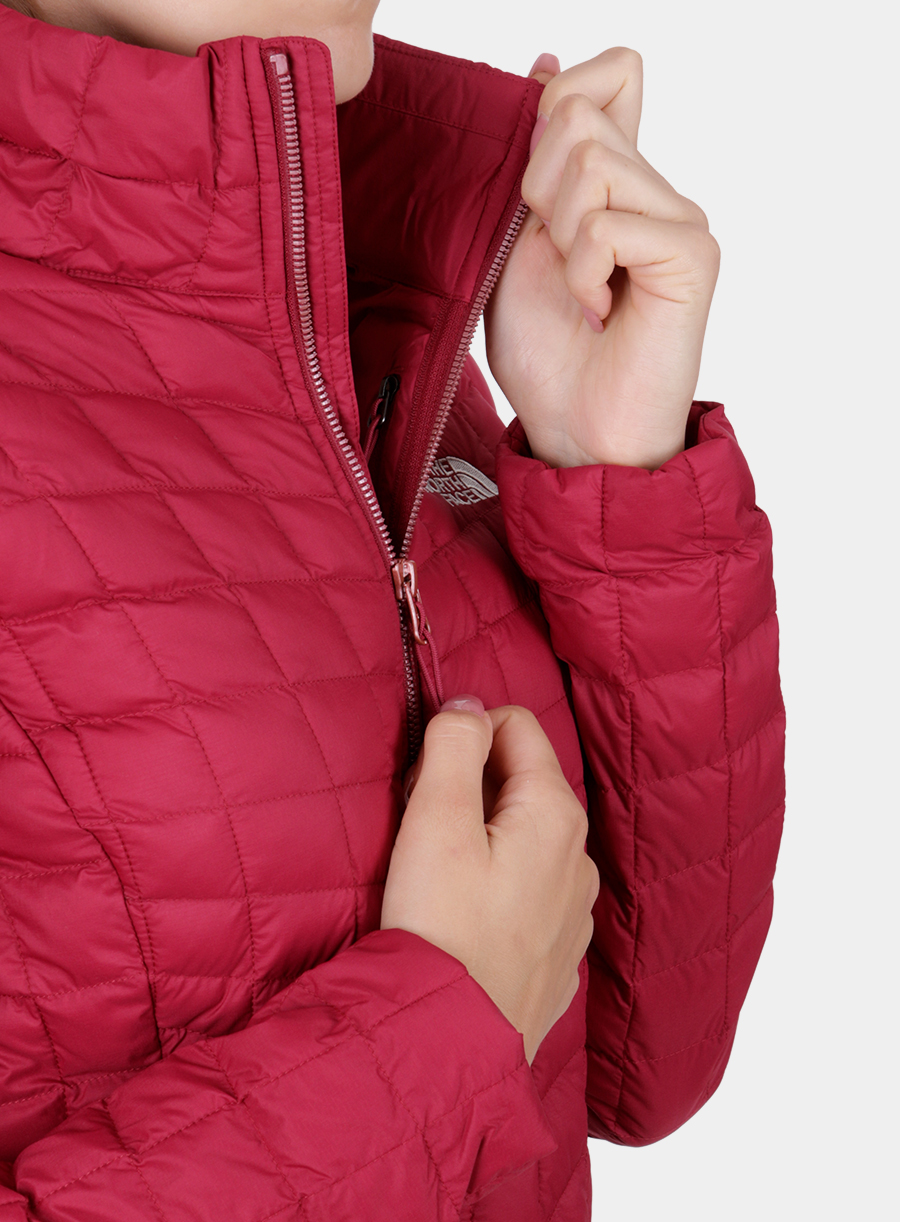 Kurtka The North Face damska Thermoball Full Zip Jacket - red - zdjęcie nr. 7