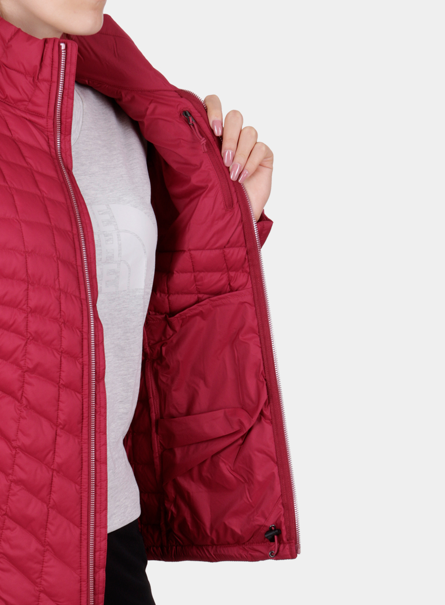 Kurtka The North Face damska Thermoball Full Zip Jacket - red - zdjęcie nr. 9