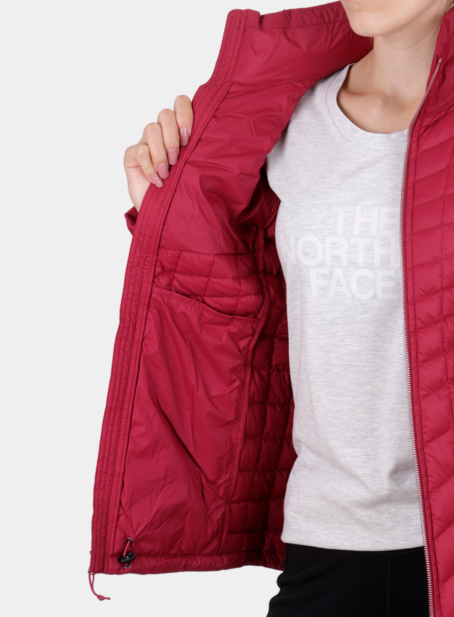 Kurtka The North Face damska Thermoball Full Zip Jacket - red - zdjęcie nr. 8
