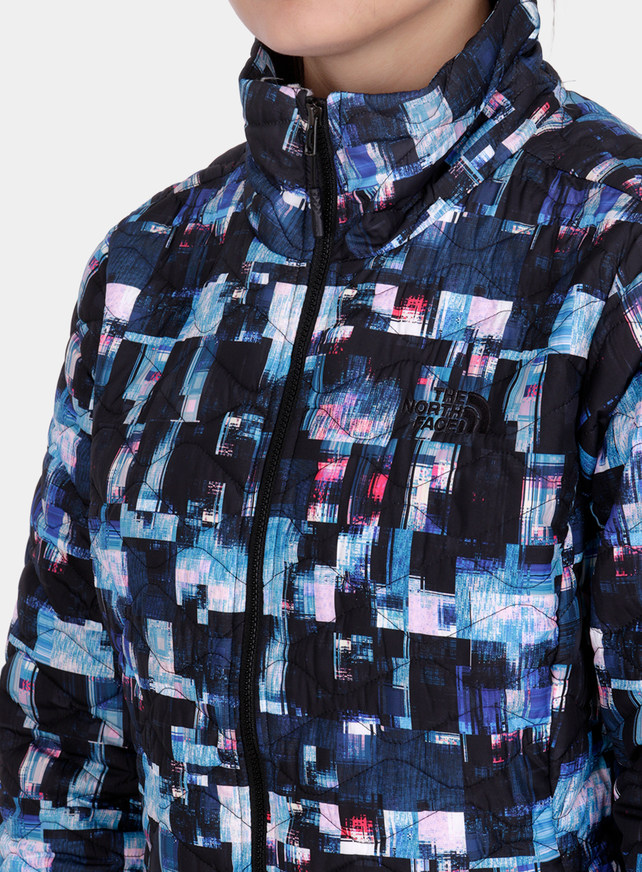 Kurtka The North Face damska Thermoball Jacket - multi glitch print - zdjęcie nr. 5