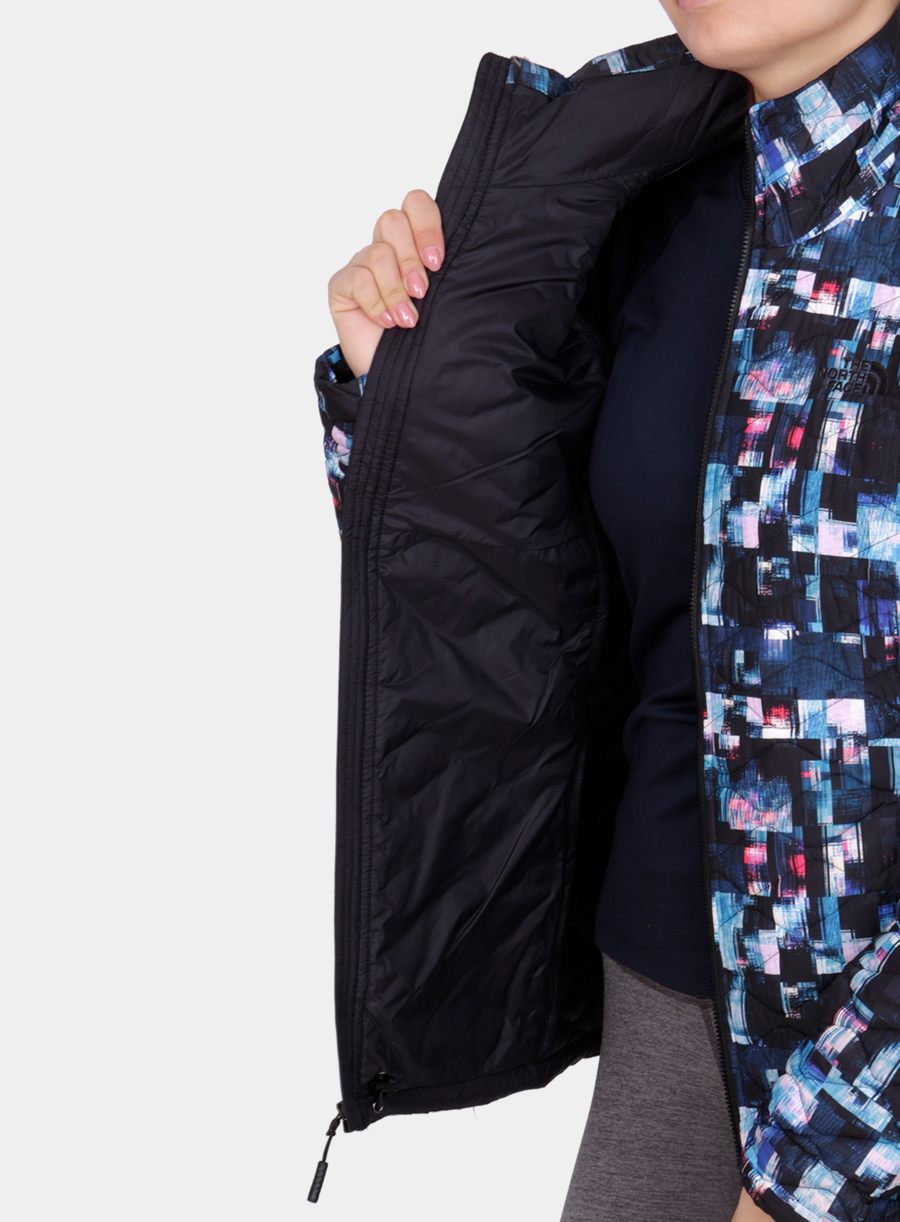 Kurtka The North Face damska Thermoball Jacket - multi glitch print - zdjęcie nr. 6