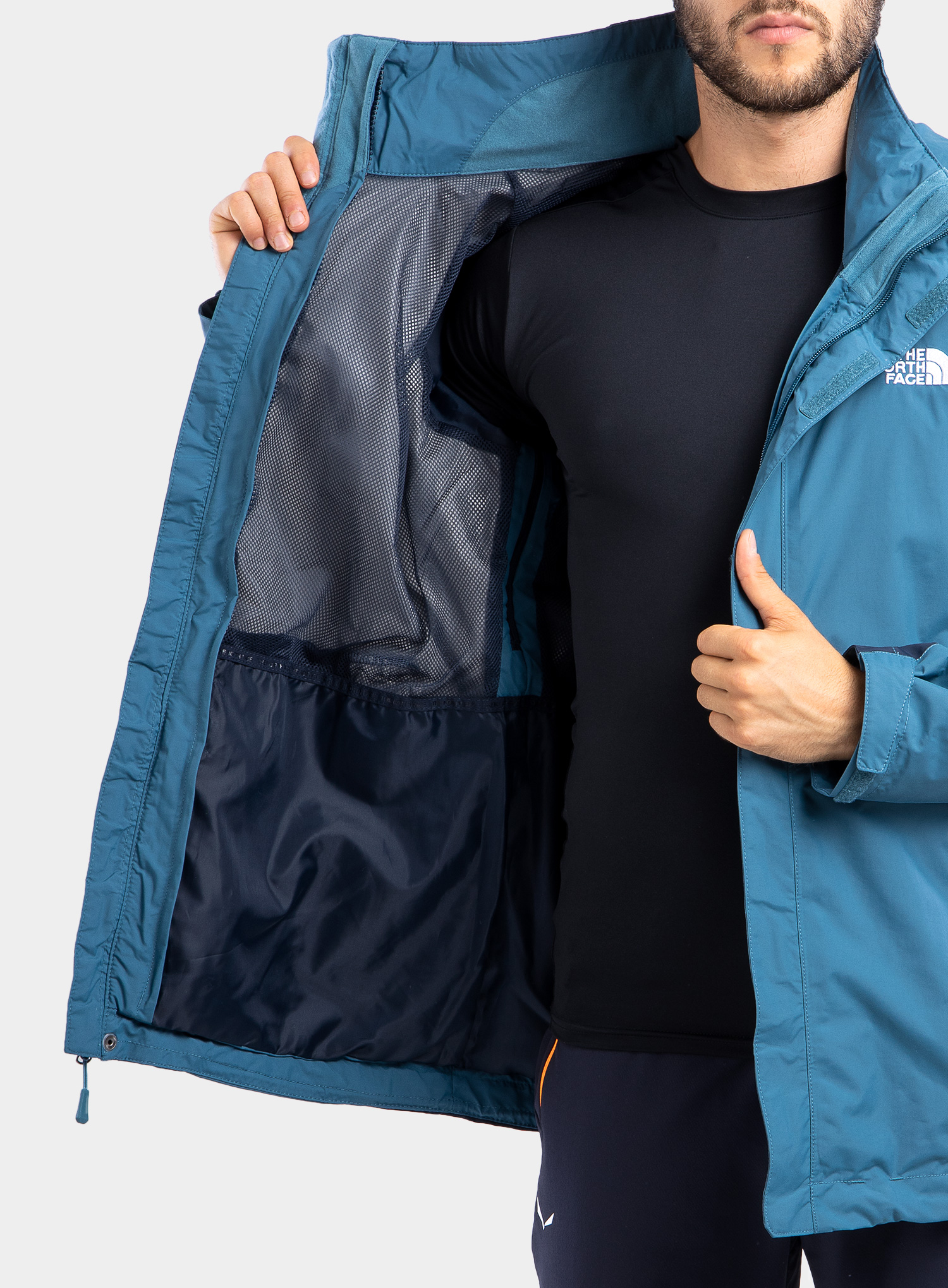 Kurtka The North Face Evolution II Triclimate - blue/navy - zdjęcie nr. 10