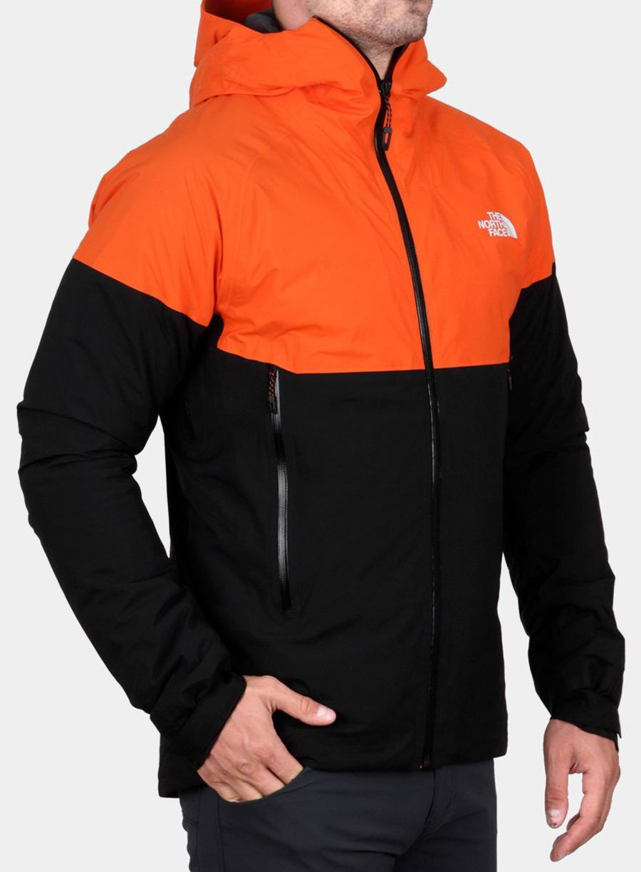 Kurtka The North Face Impendor Insulated Jacket - persian orange/black - zdjęcie nr. 3