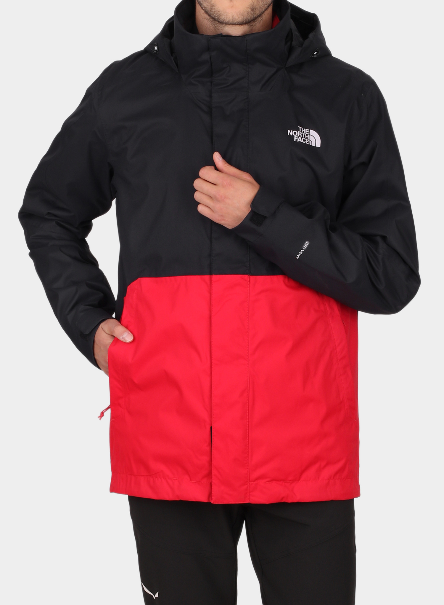 Kurtka 3w1 The North Face Kabru Triclimate - tnf red/cardinal red - zdjęcie nr. 1