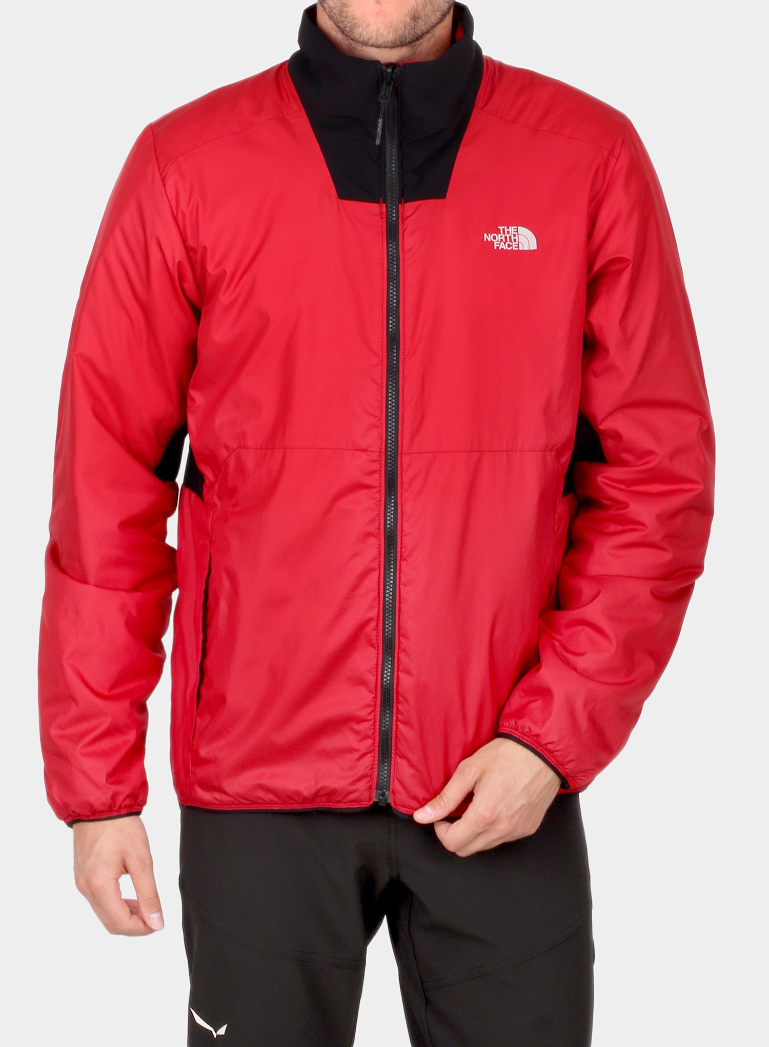 Kurtka 3w1 The North Face Kabru Triclimate - tnf red/cardinal red - zdjęcie nr. 2