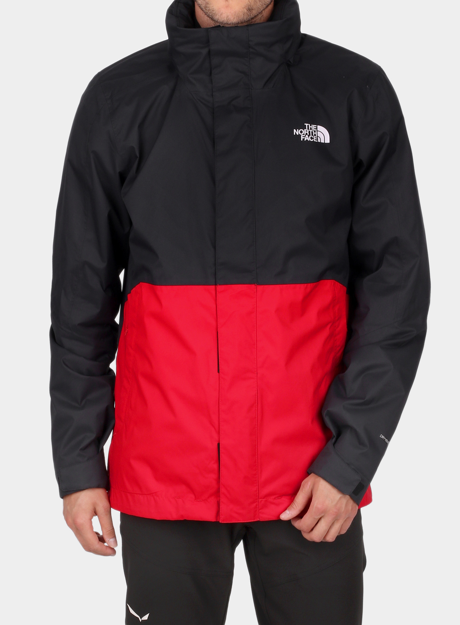 Kurtka 3w1 The North Face Kabru Triclimate - tnf red/cardinal red - zdjęcie nr. 13