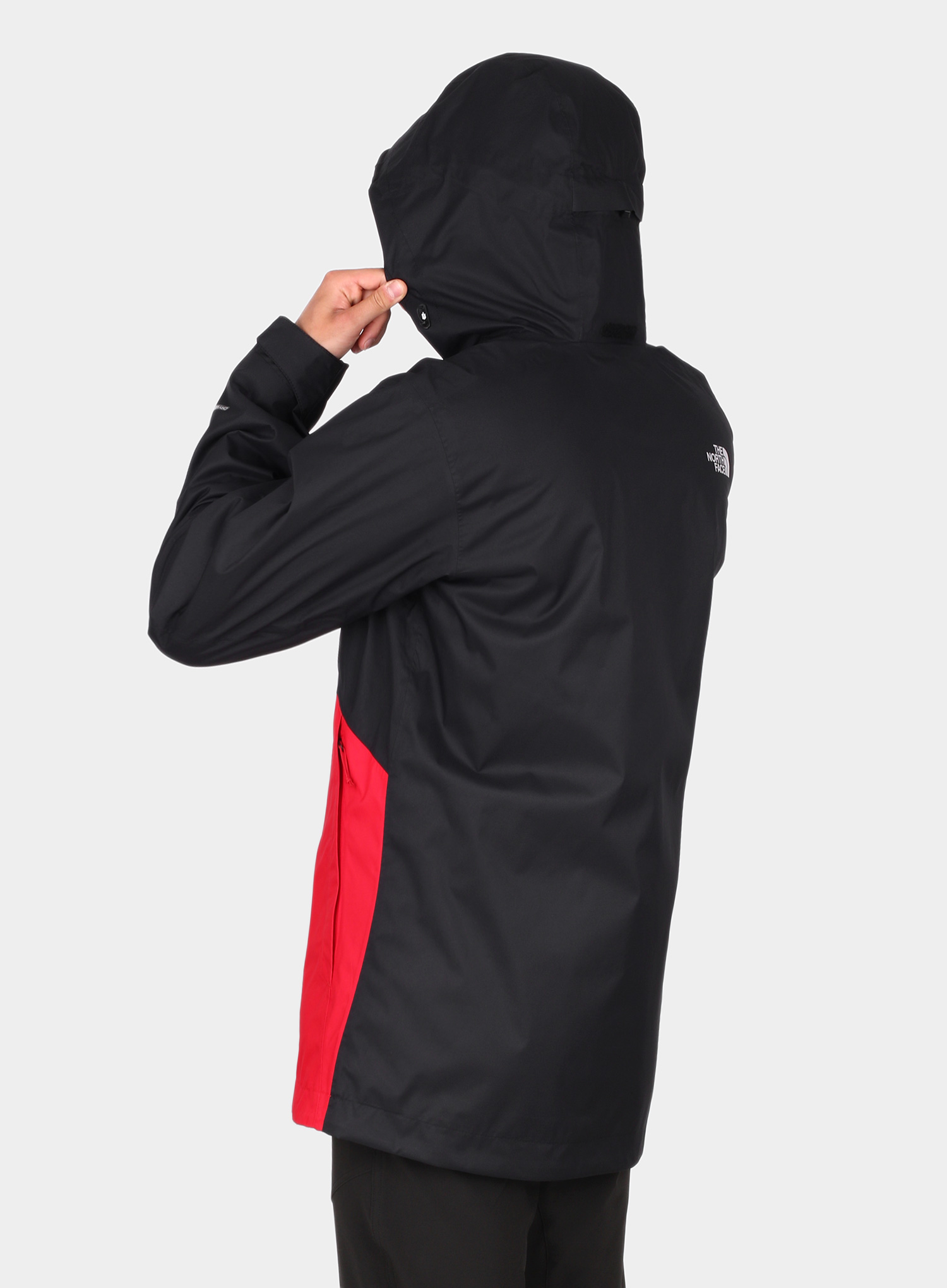 Kurtka 3w1 The North Face Kabru Triclimate - tnf red/cardinal red - zdjęcie nr. 4