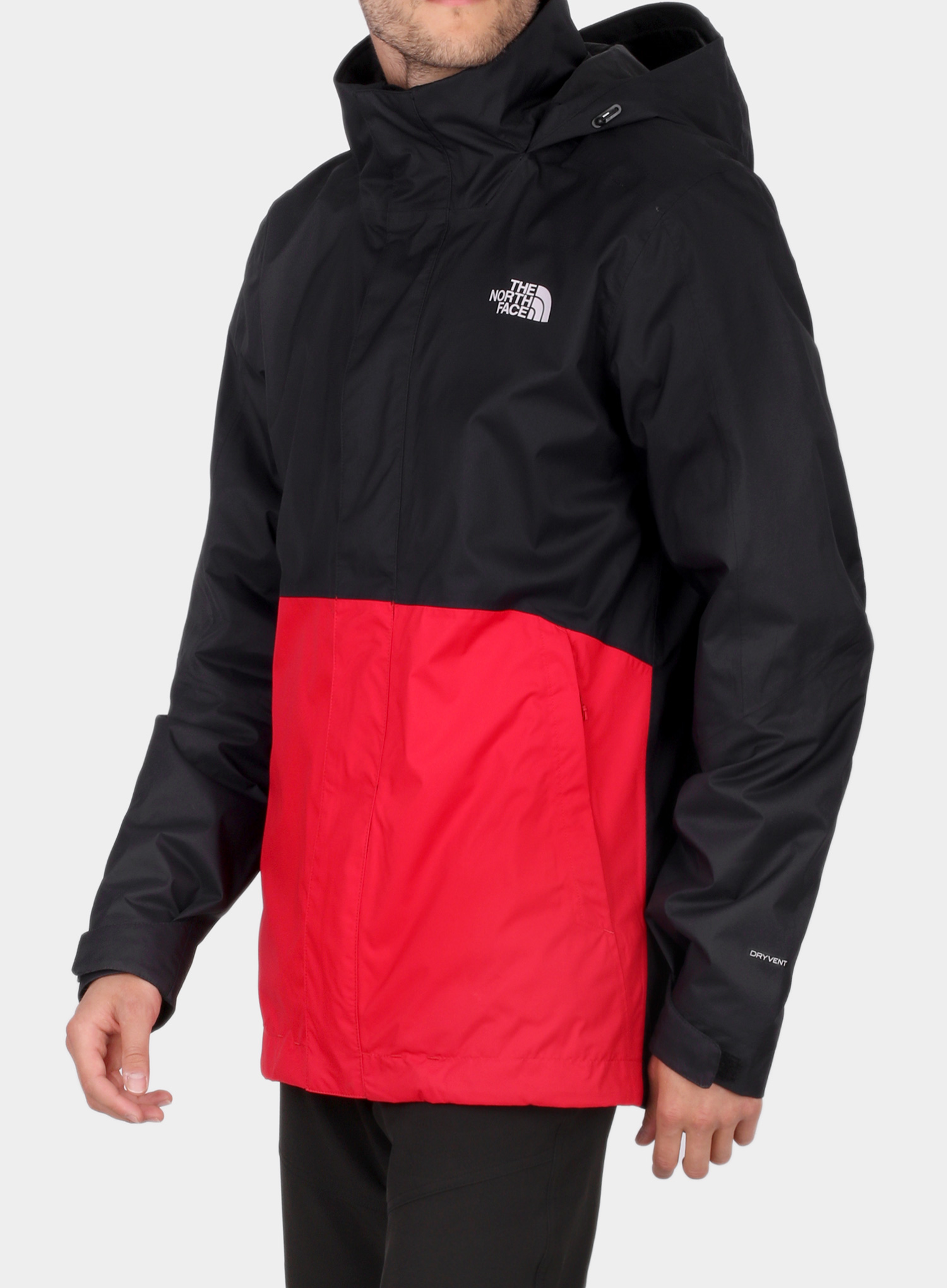 Kurtka 3w1 The North Face Kabru Triclimate - tnf red/cardinal red - zdjęcie nr. 5