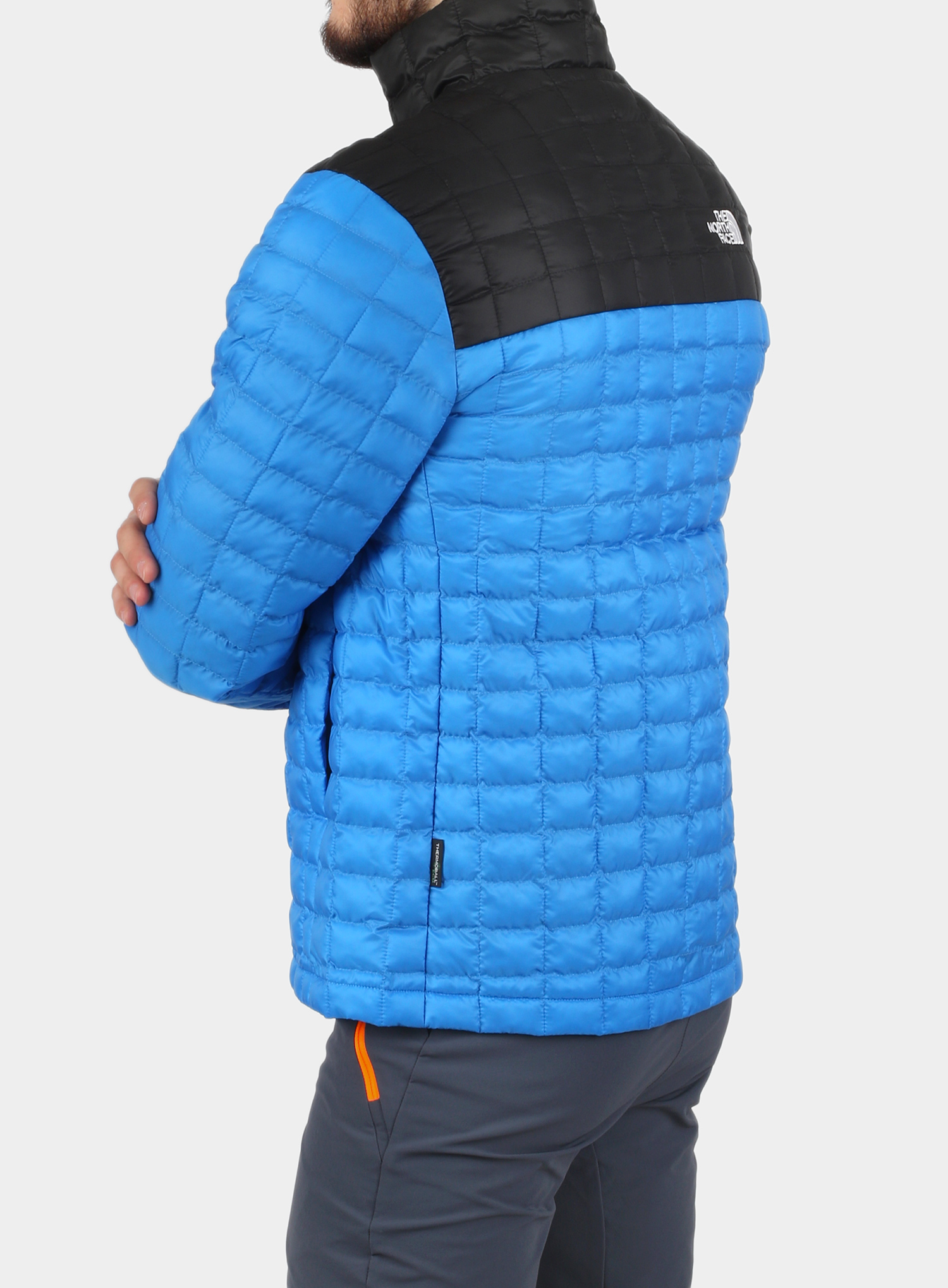Kurtka The North Face ThermoBall Eco Active Jacket - l.blue/blk - zdjęcie nr. 2