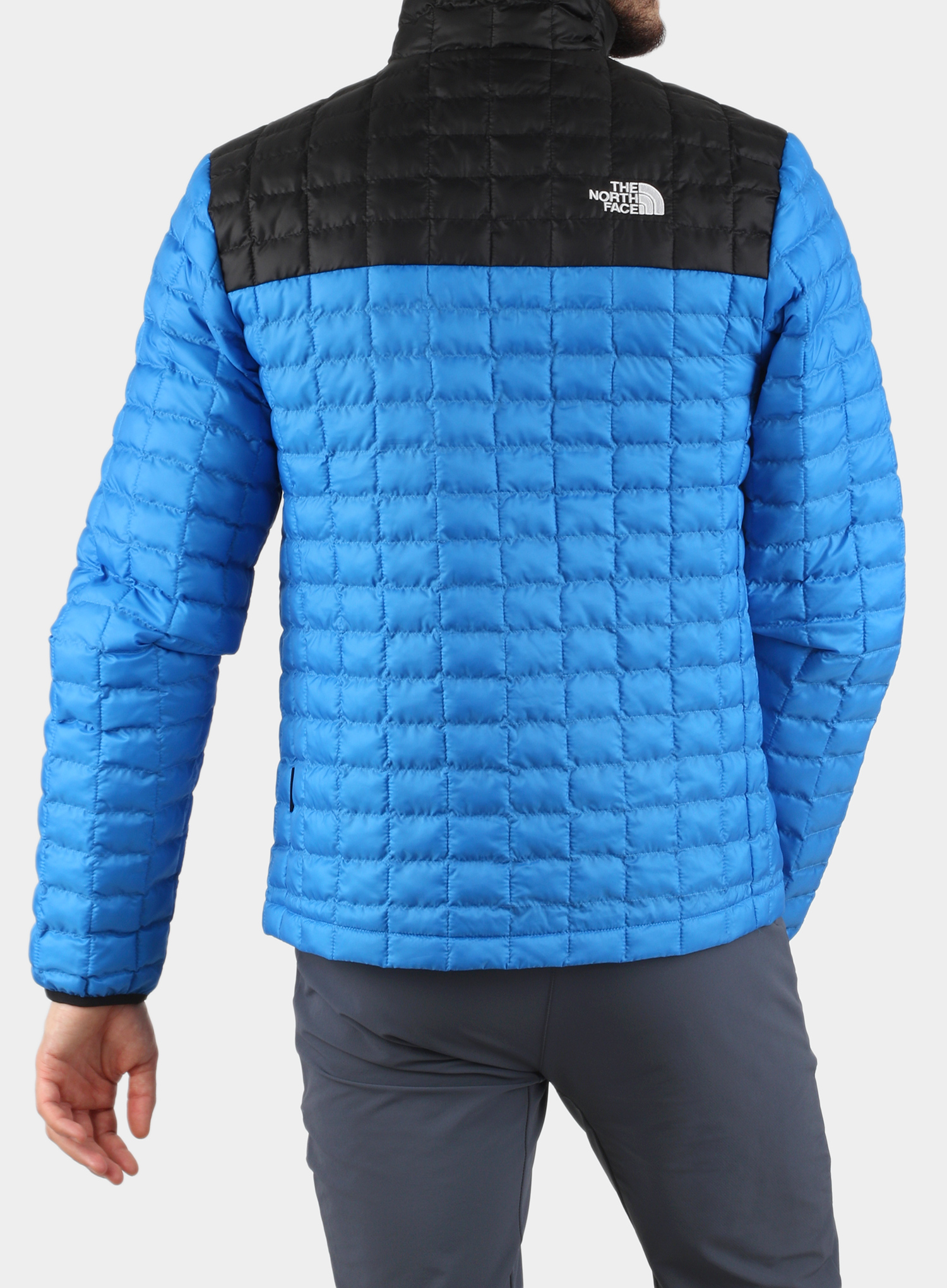Kurtka The North Face ThermoBall Eco Active Jacket - l.blue/blk - zdjęcie nr. 5