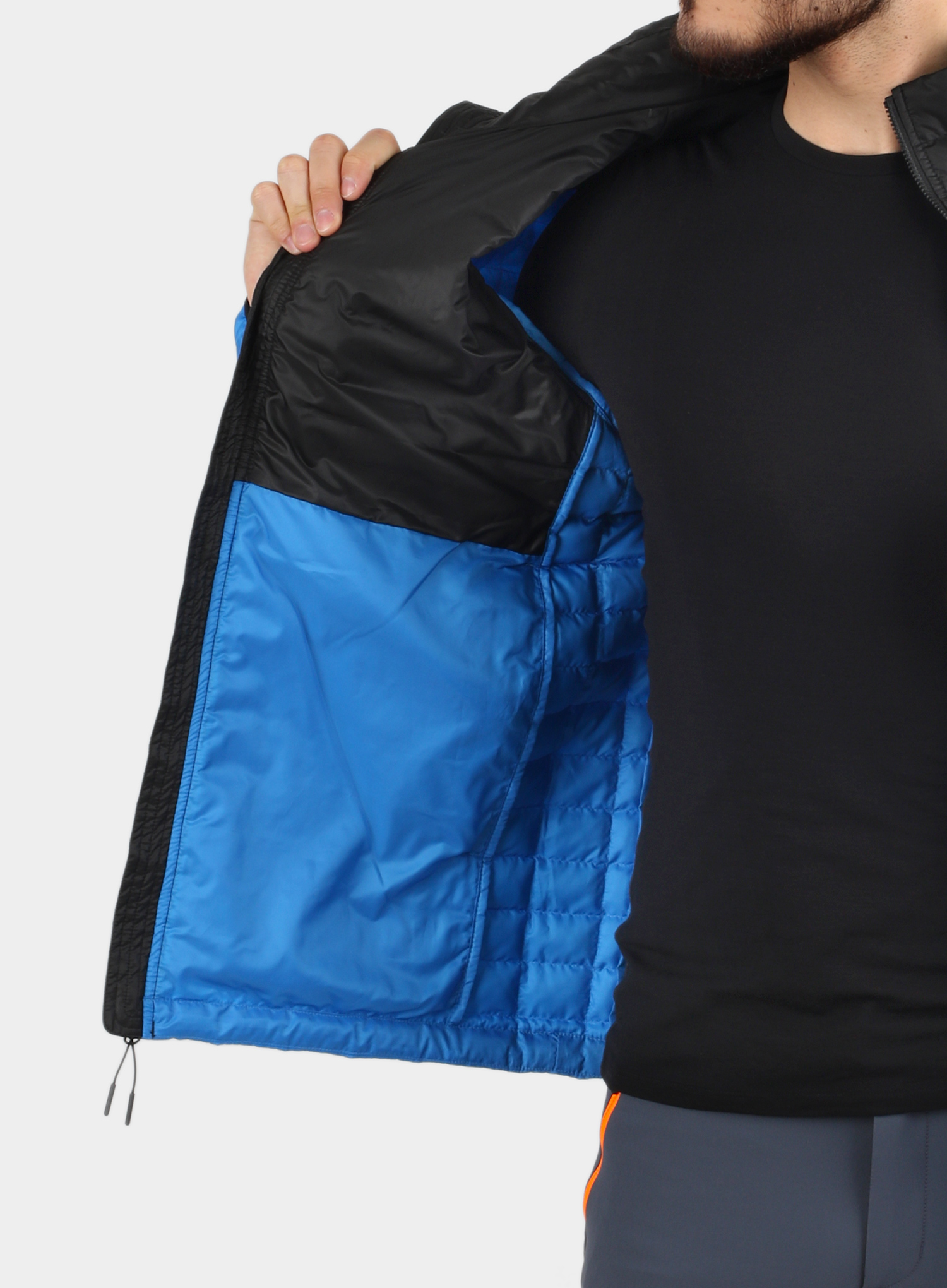 Kurtka The North Face ThermoBall Eco Active Jacket - l.blue/blk - zdjęcie nr. 7