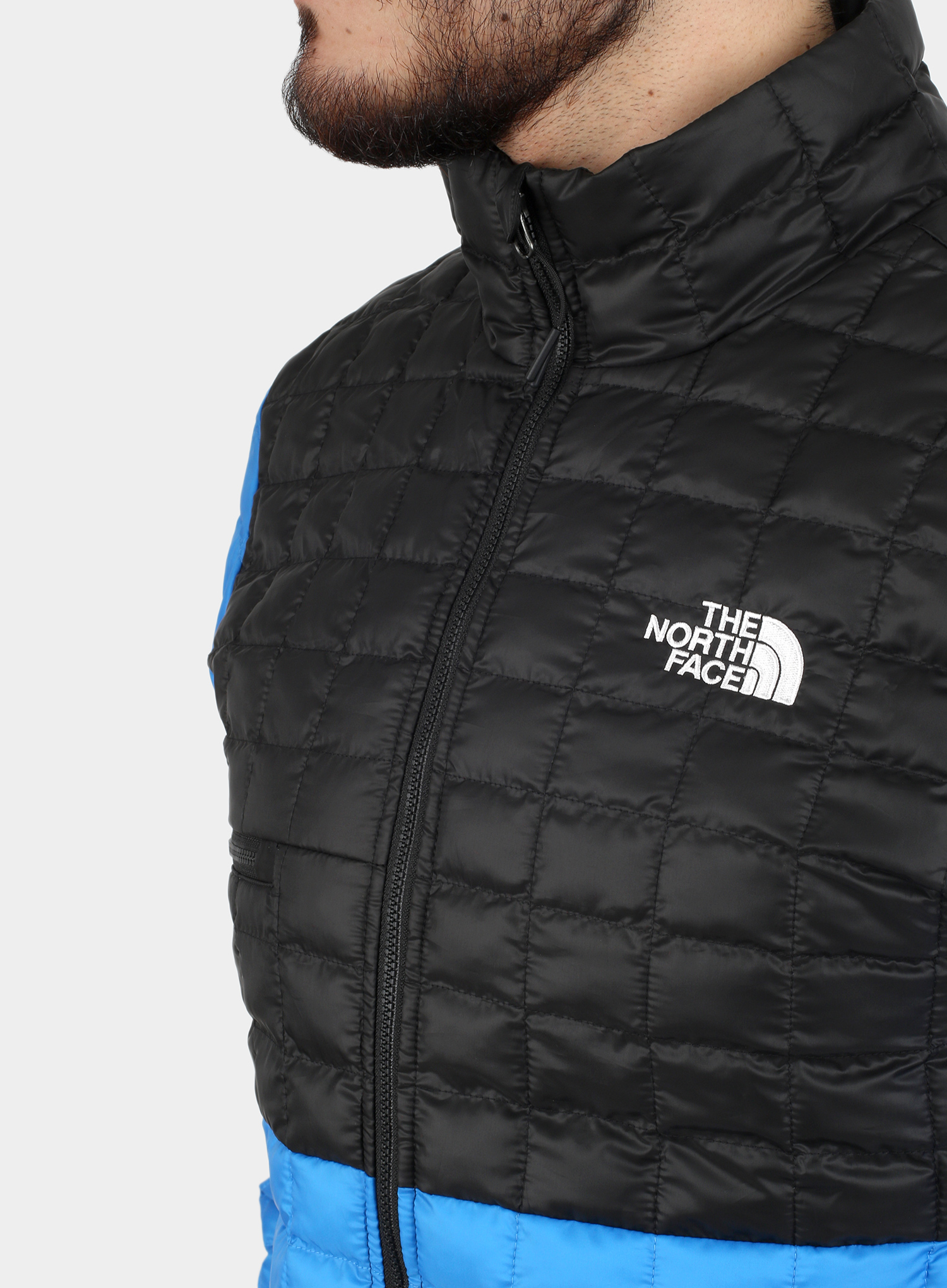Kurtka The North Face ThermoBall Eco Active Jacket - l.blue/blk - zdjęcie nr. 8