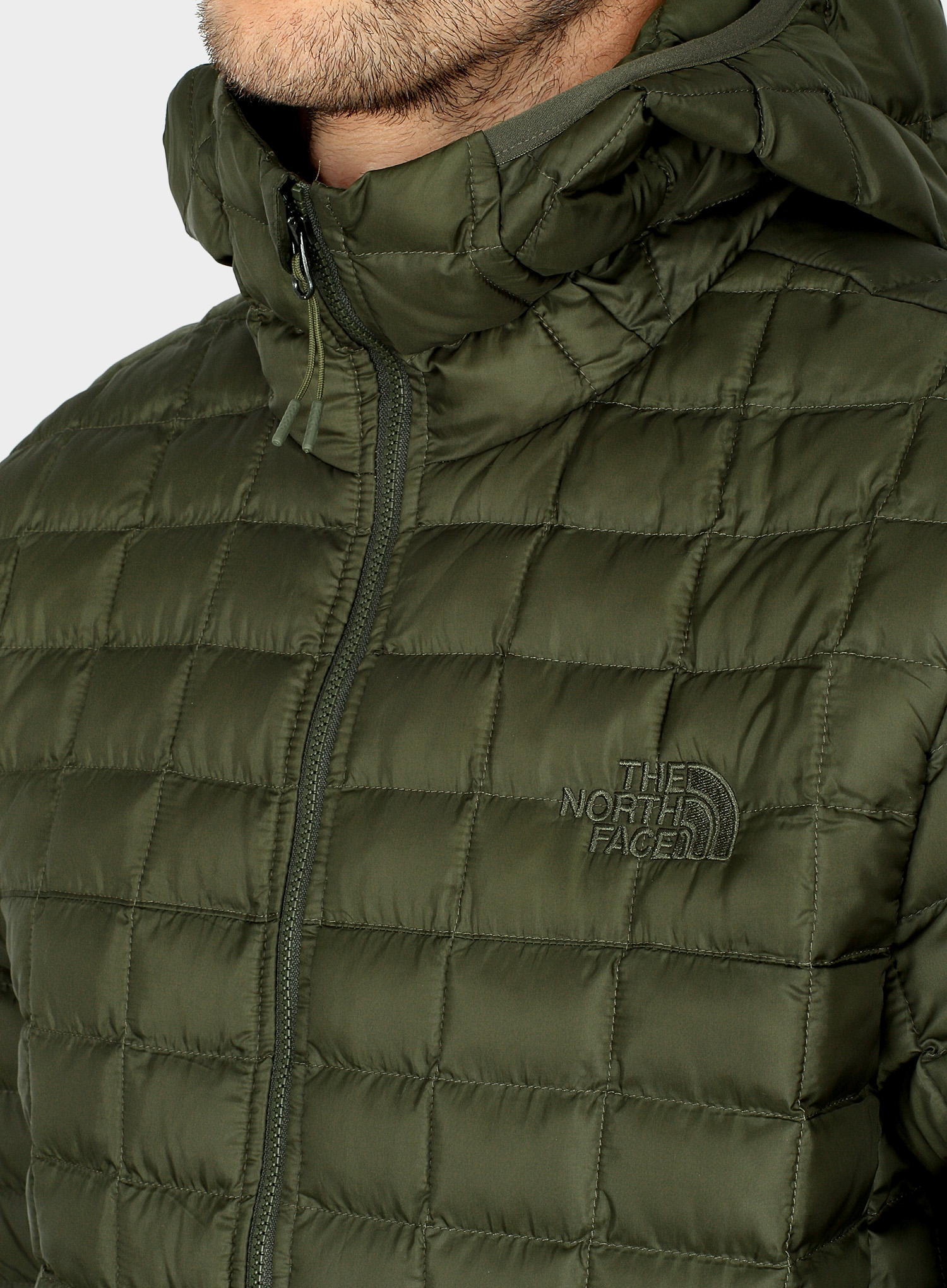 Kurtka The North Face ThermoBall Eco Hoodie - new taupe green matte - zdjęcie nr. 5