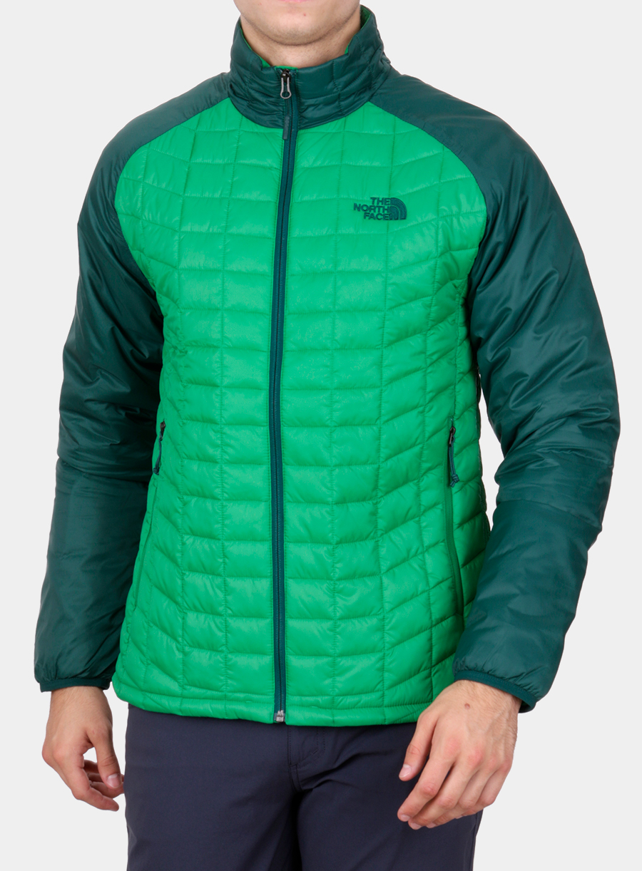 Kurtka The North Face Thermoball Sport Jacket - green/garden green - zdjęcie nr. 1
