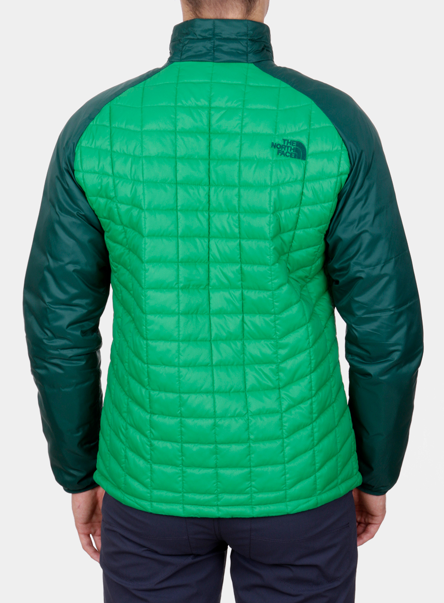 Kurtka The North Face Thermoball Sport Jacket - green/garden green - zdjęcie nr. 2