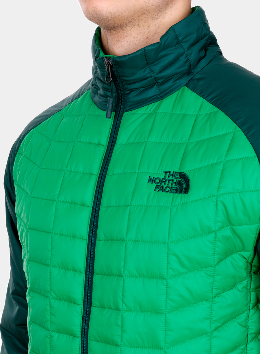 Kurtka The North Face Thermoball Sport Jacket - green/garden green - zdjęcie nr. 4