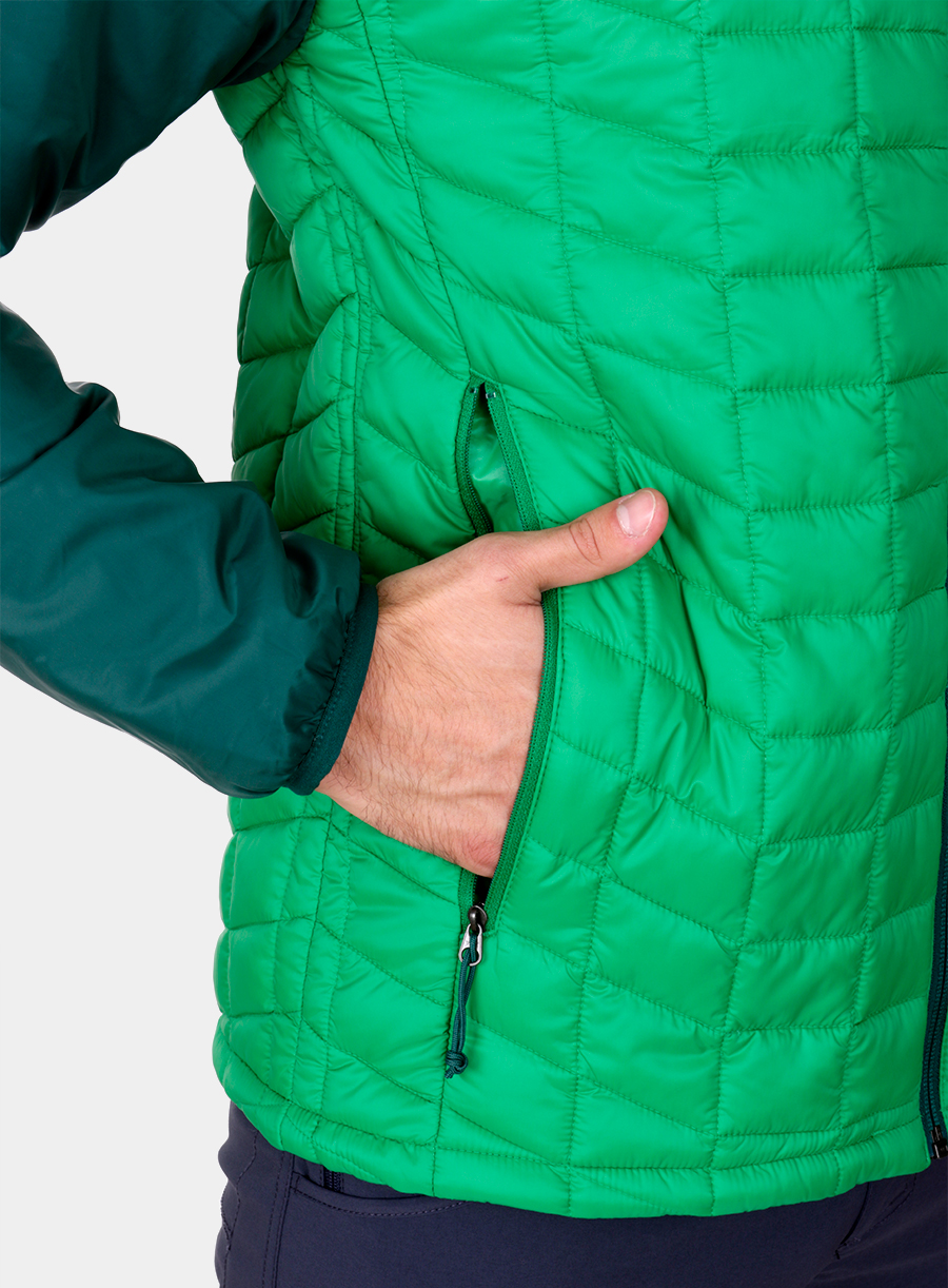 Kurtka The North Face Thermoball Sport Jacket - green/garden green - zdjęcie nr. 5