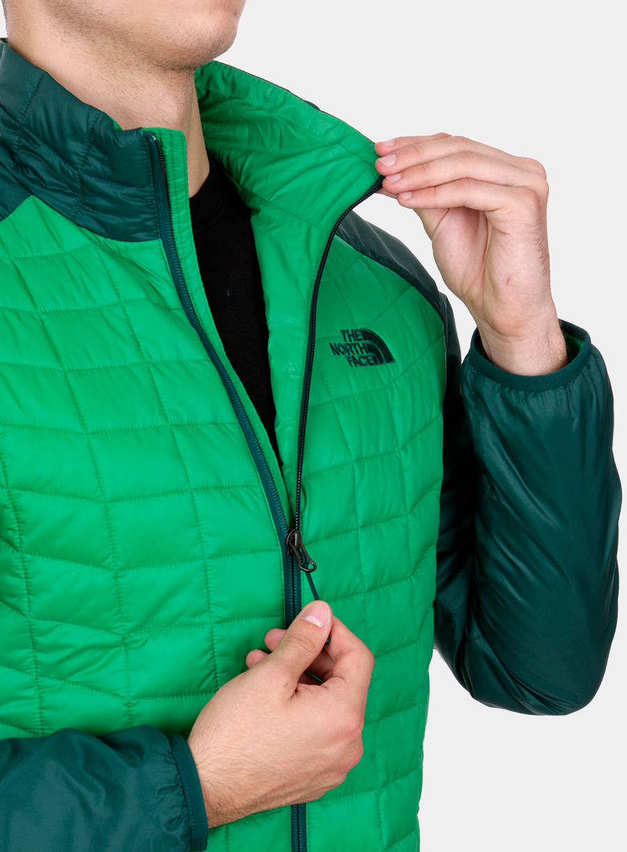 Kurtka The North Face Thermoball Sport Jacket - green/garden green - zdjęcie nr. 8