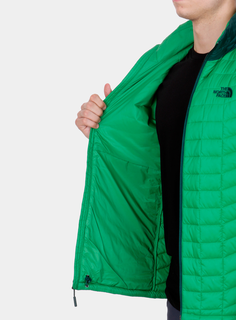 Kurtka The North Face Thermoball Sport Jacket - green/garden green - zdjęcie nr. 6