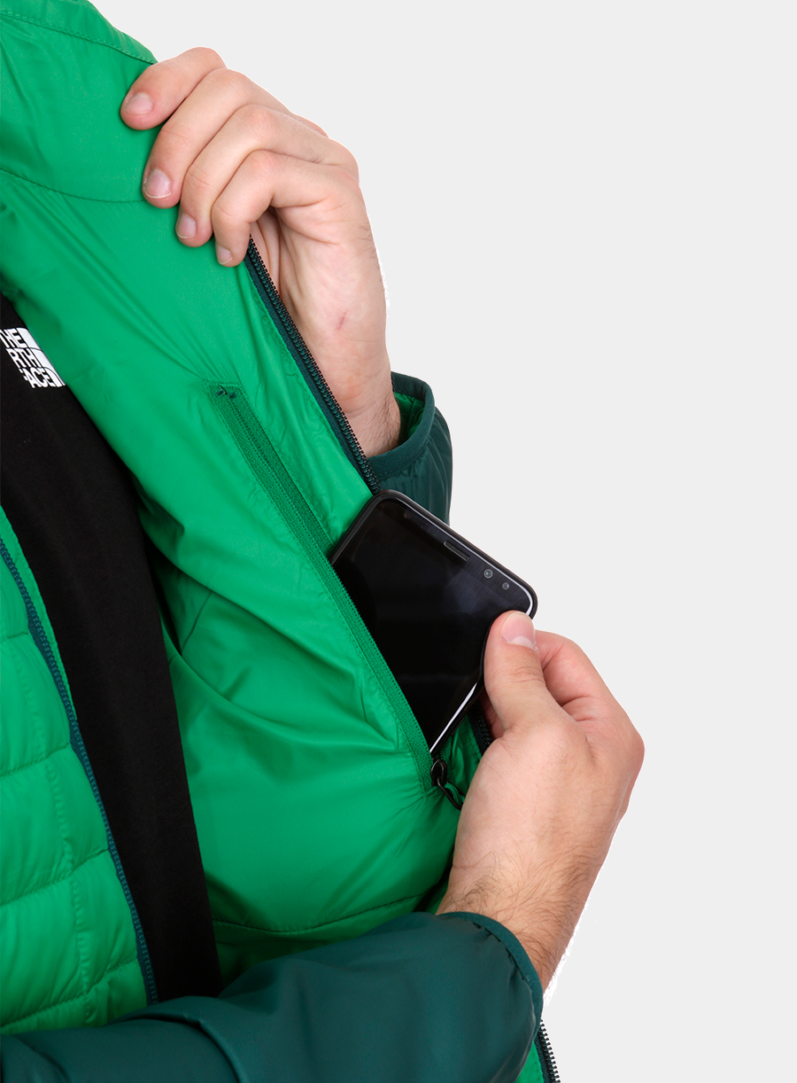 Kurtka The North Face Thermoball Sport Jacket - green/garden green - zdjęcie nr. 9