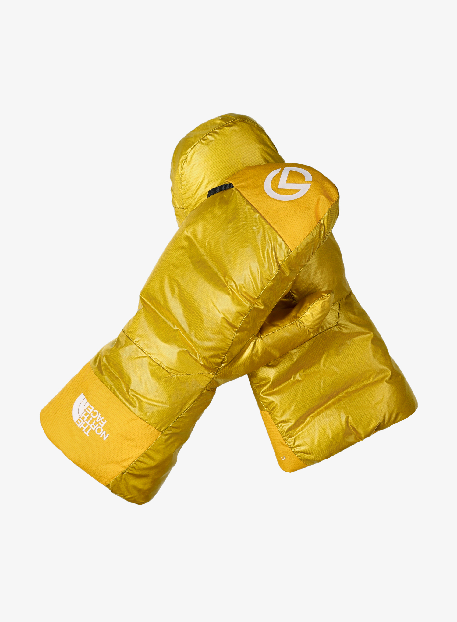 Łapawice The North Face AMK L4 Insulated Down Mitt - canarry/gold - zdjęcie nr. 1